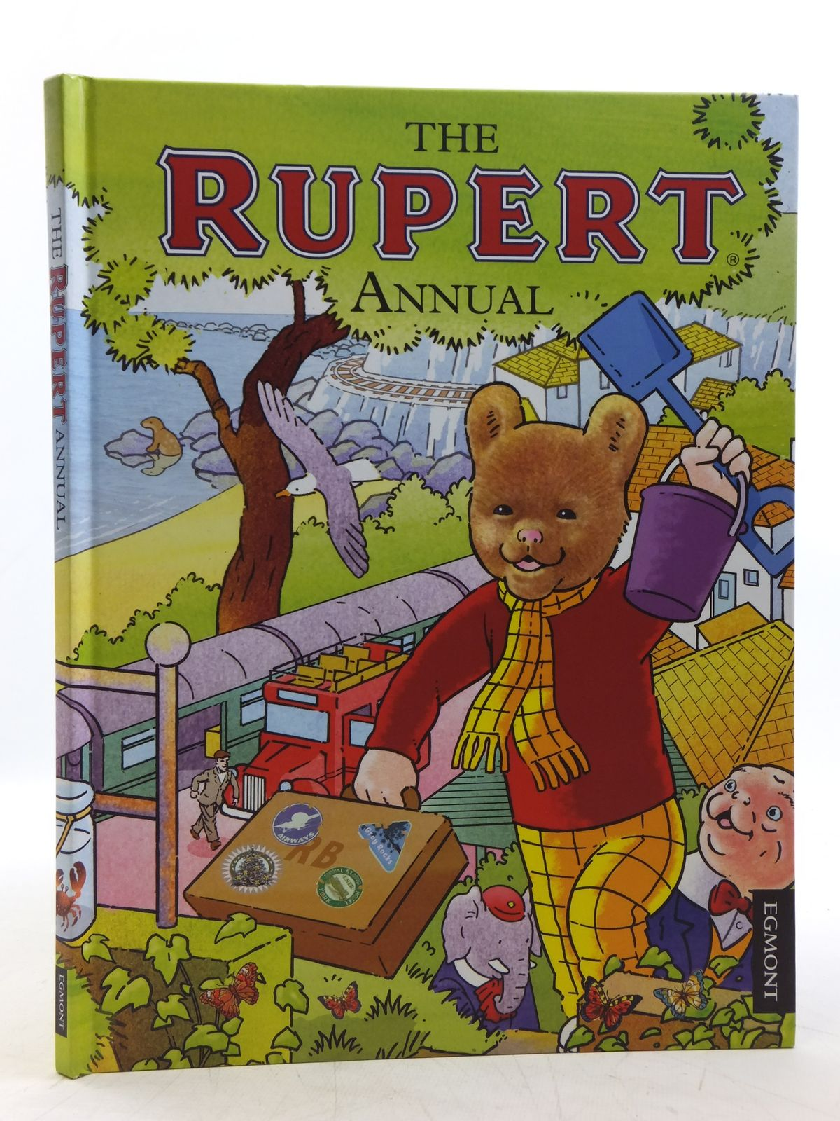 Photo of RUPERT ANNUAL 2012 written by Harwood, Beth<br />Trotter, Stuart illustrated by Trotter, Stuart<br />Bestall, Alfred published by Egmont Uk Limited (STOCK CODE: 2119516)  for sale by Stella & Rose's Books