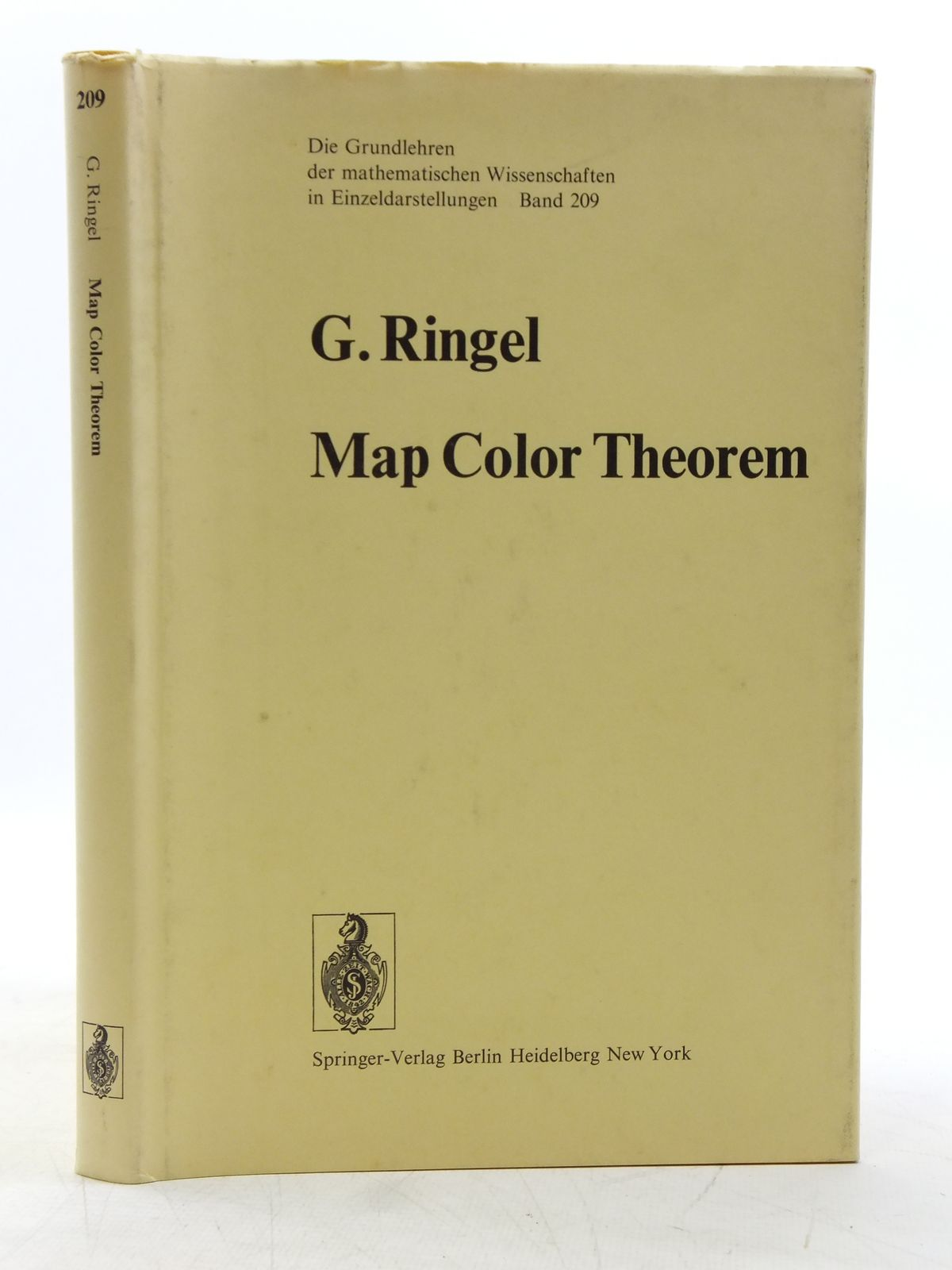Photo of MAP COLOR THEOREM written by Ringel, Gerhard published by Springer-Verlag (STOCK CODE: 2119611)  for sale by Stella & Rose's Books