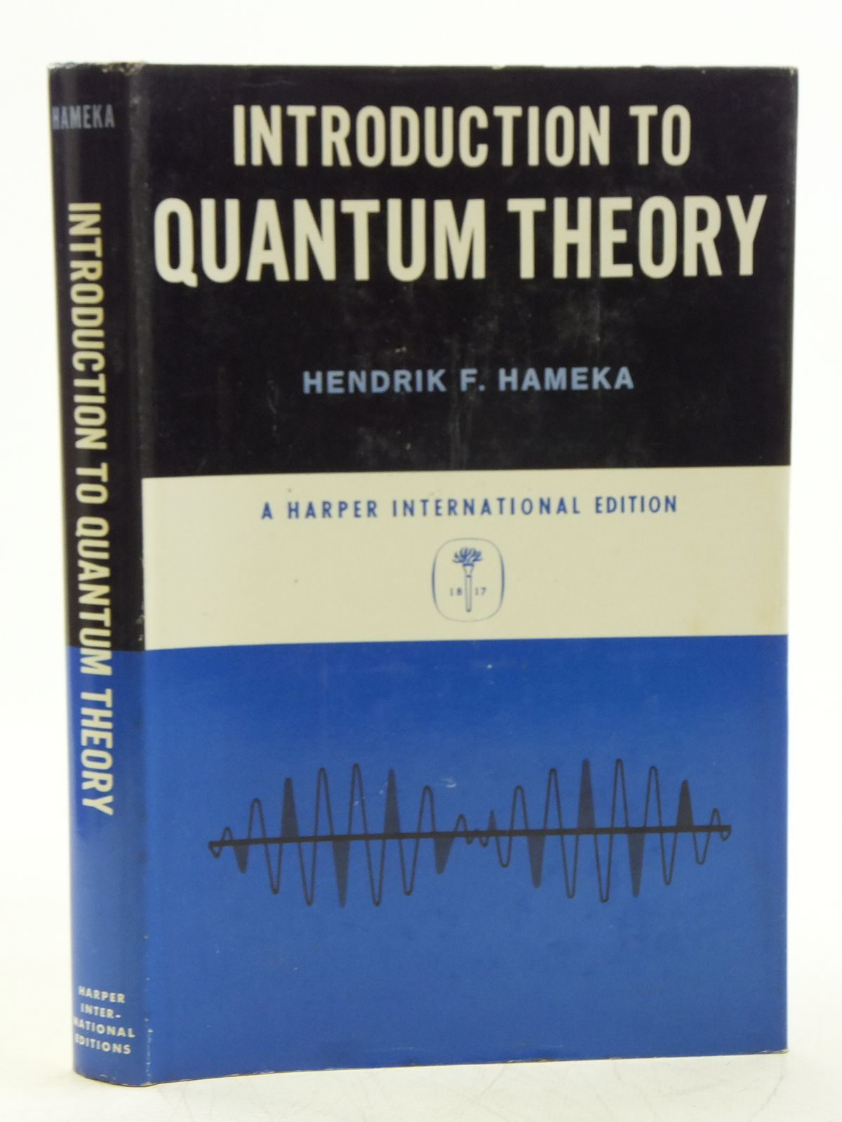 Photo of INTRODUCTION TO QUANTUM THEORY written by Hameka, Hendrik F. published by Harper & Row, John Weatherhill (STOCK CODE: 2119662)  for sale by Stella & Rose's Books