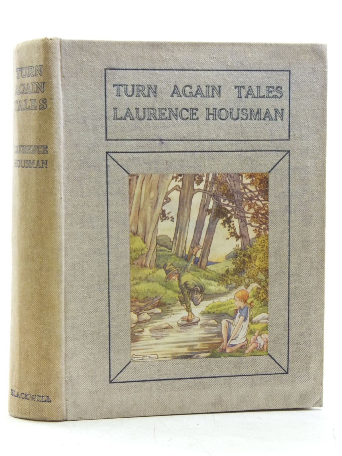 Photo of TURN AGAIN TALES written by Housman, Laurence illustrated by Watson, A.H.<br />Smith, May<br />et al.,  published by Basil Blackwell (STOCK CODE: 2119718)  for sale by Stella & Rose's Books