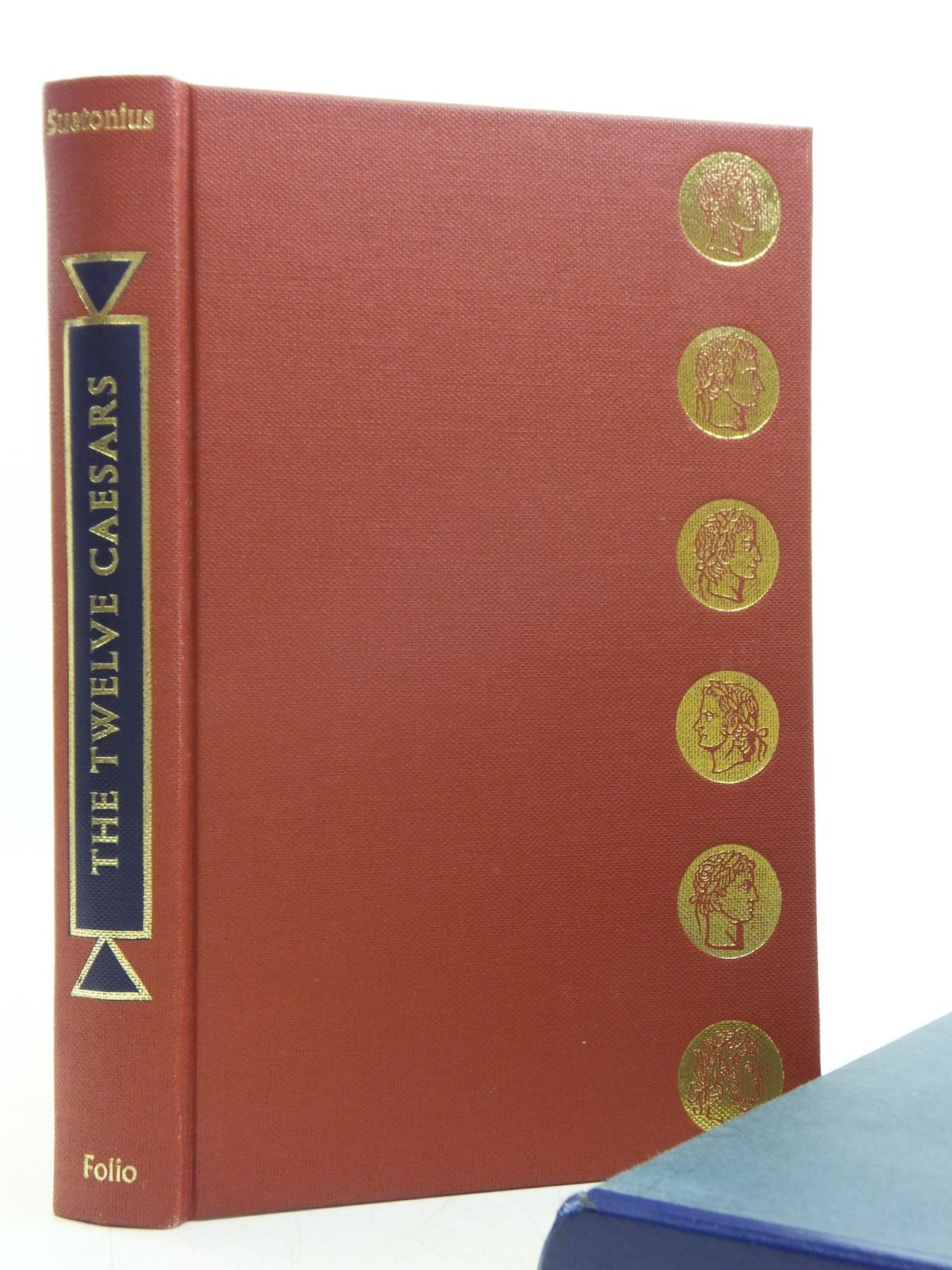 Photo of THE TWELVE CAESARS written by Tranquillus, Gaius Suetonius<br />Graves, Robert illustrated by Hawthorn, Raymond published by Folio Society (STOCK CODE: 2119745)  for sale by Stella & Rose's Books
