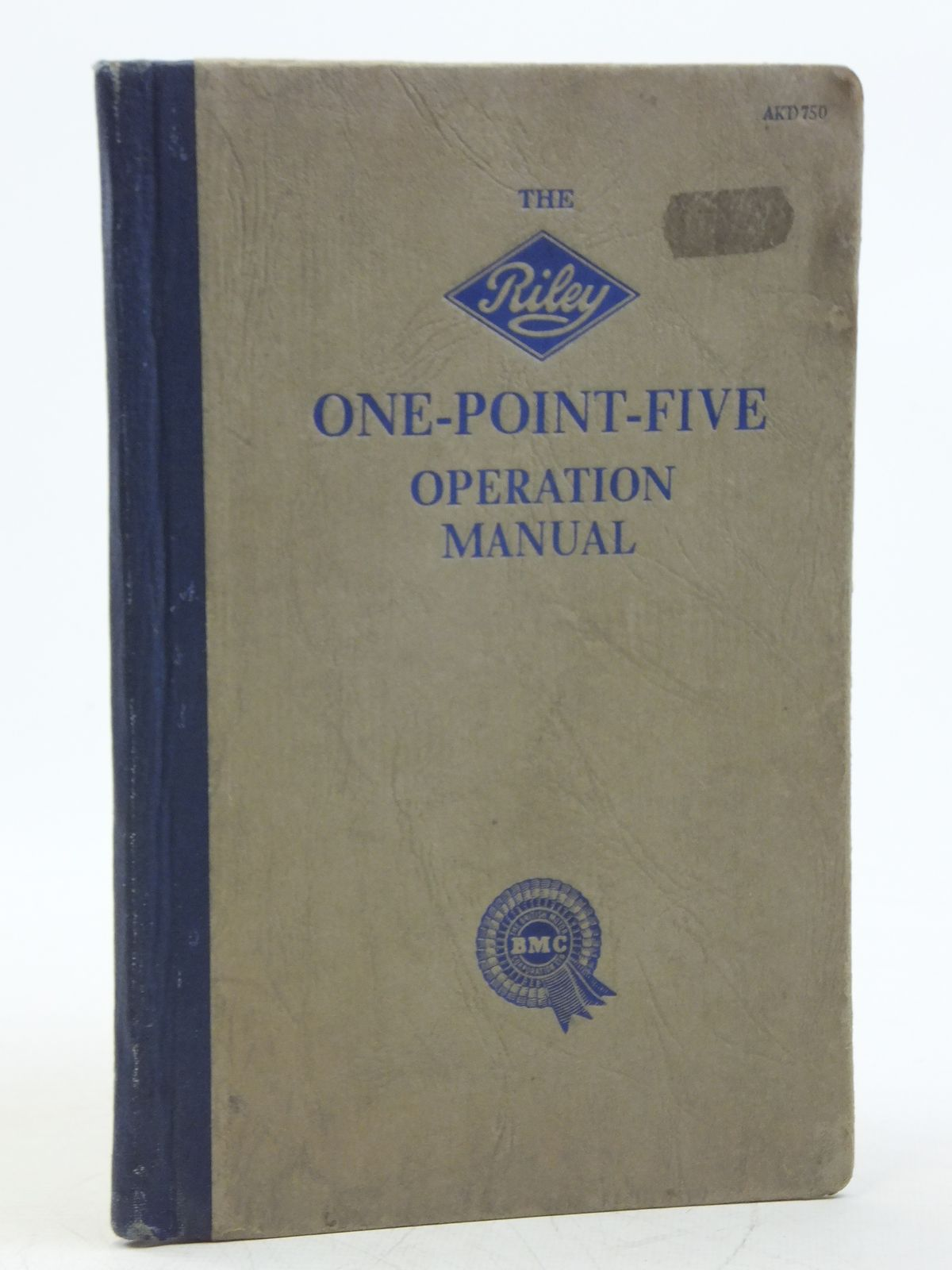 Photo of THE RILEY ONE-POINT-FIVE OPERATION MANUAL published by Riley Motors Limited (STOCK CODE: 2119778)  for sale by Stella & Rose's Books