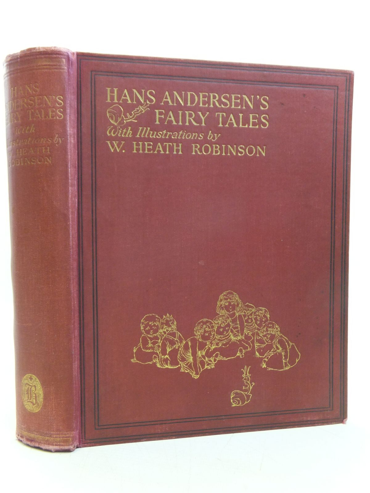 Photo of HANS ANDERSEN'S FAIRY TALES written by Andersen, Hans Christian illustrated by Robinson, W. Heath published by Hodder & Stoughton, Boots the Chemists (STOCK CODE: 2119804)  for sale by Stella & Rose's Books
