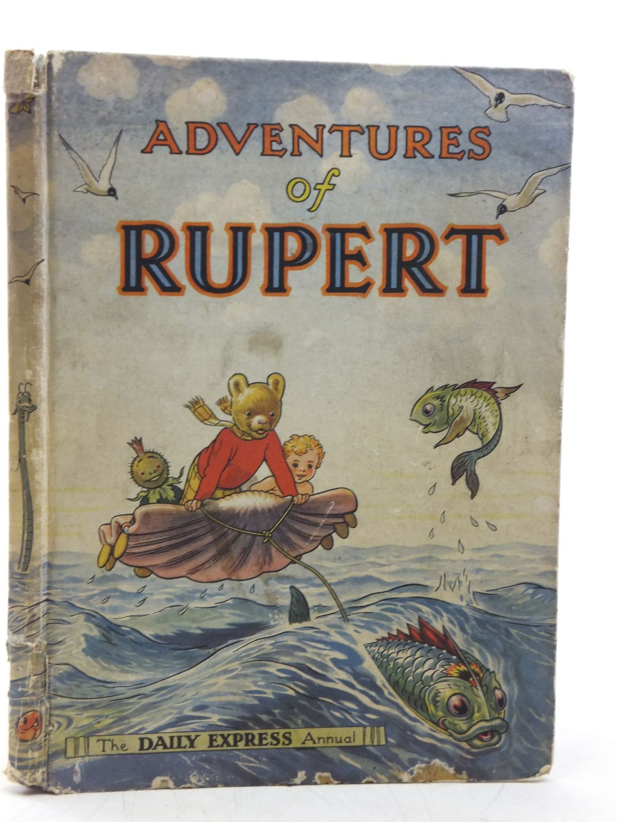 Photo of RUPERT ANNUAL 1950 - ADVENTURES OF RUPERT written by Bestall, Alfred illustrated by Bestall, Alfred published by Daily Express (STOCK CODE: 2119809)  for sale by Stella & Rose's Books