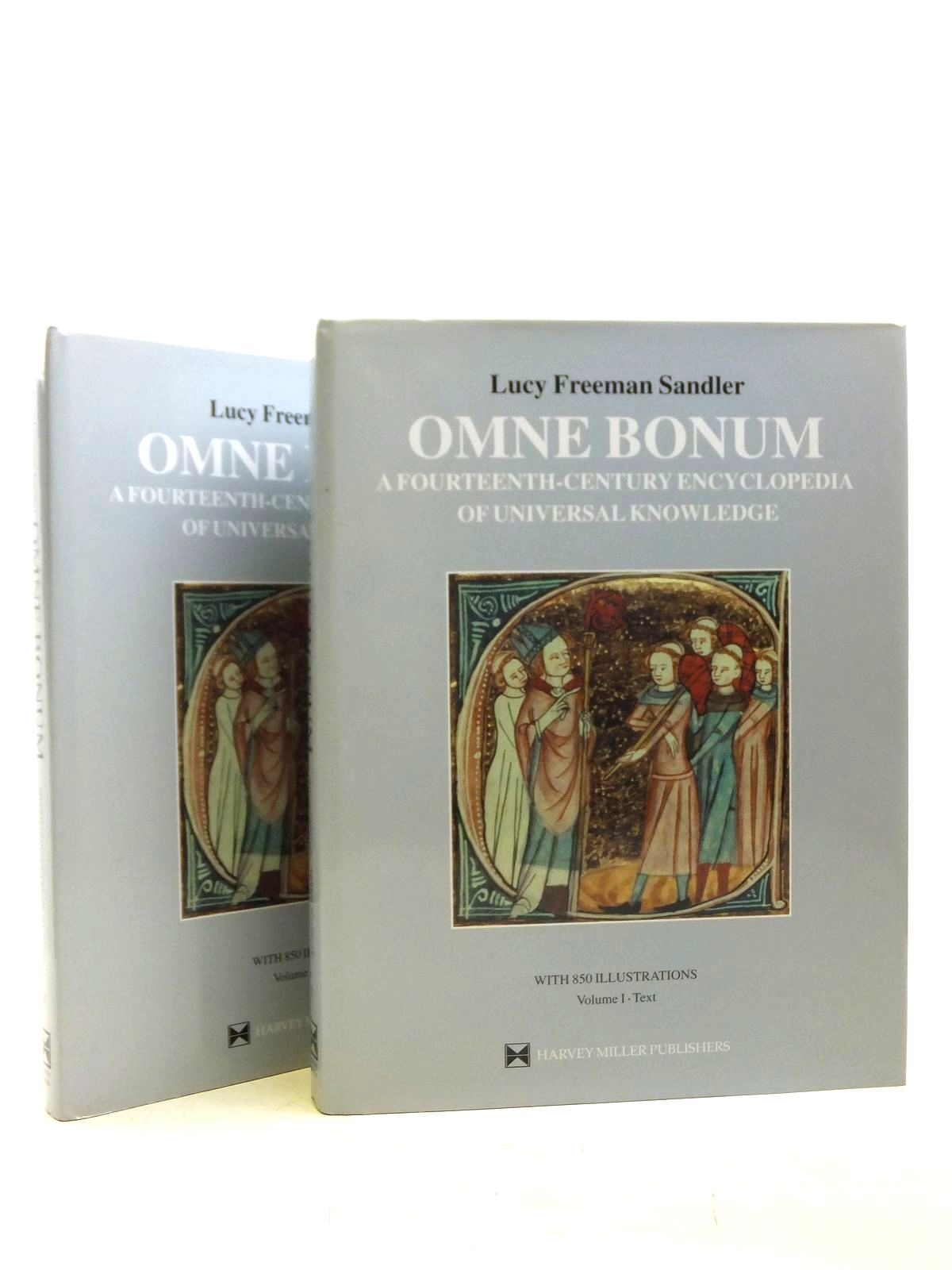 Photo of OMNE BONUM A FOURTEENTH-CENTURY ENCYCLOPEDIA OF UNIVERSAL KNOWLEDGE (2 VOLUMES) written by Sandler, Lucy Freeman published by Harvey Miller (STOCK CODE: 2119824)  for sale by Stella & Rose's Books
