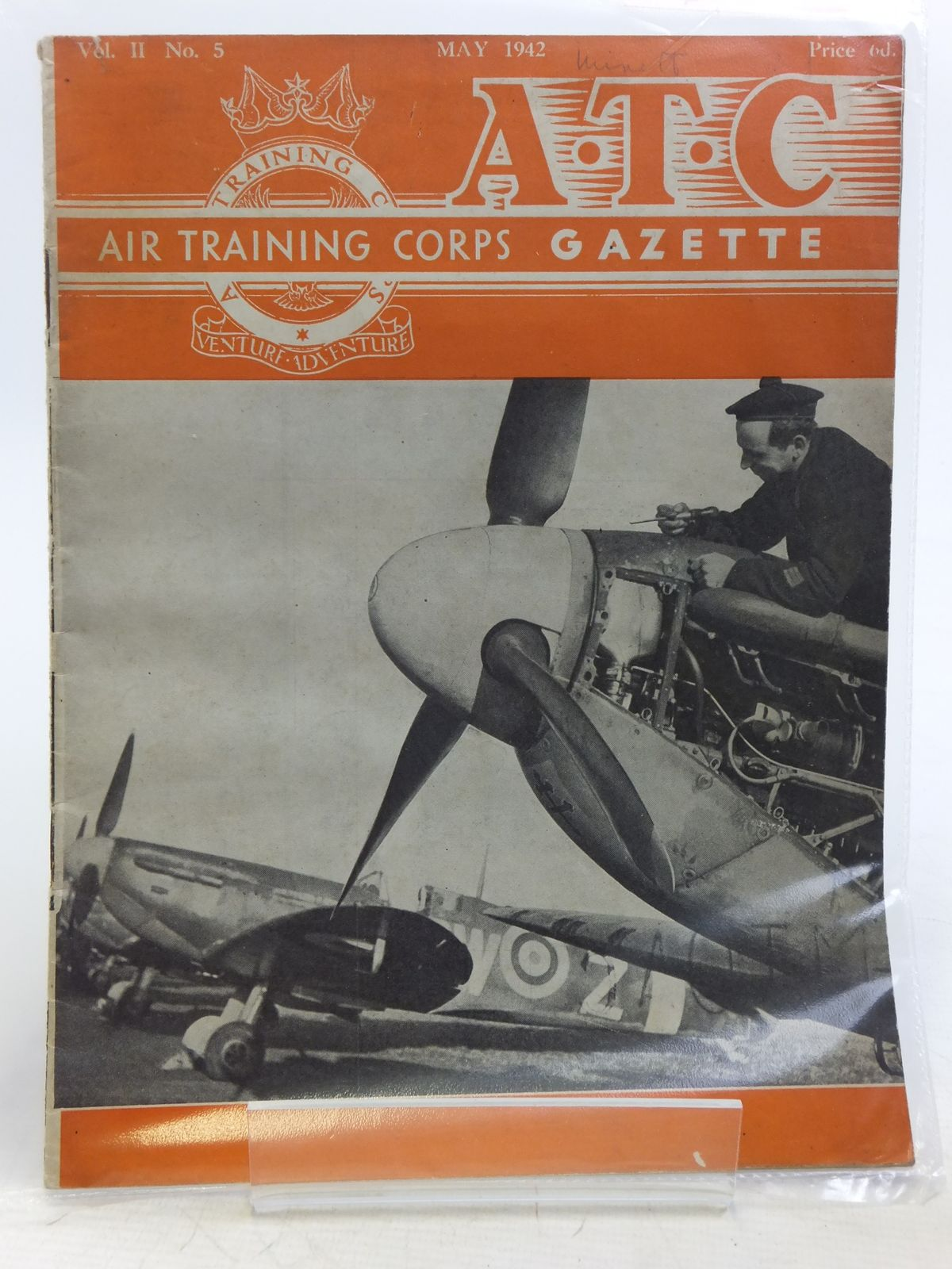 Photo of AIR TRAINING CORPS GAZETTE VOL. II No. 5 MAY 1942 written by Johns, W.E.<br />et al, published by The Air League Of The British Empire (STOCK CODE: 2119956)  for sale by Stella & Rose's Books