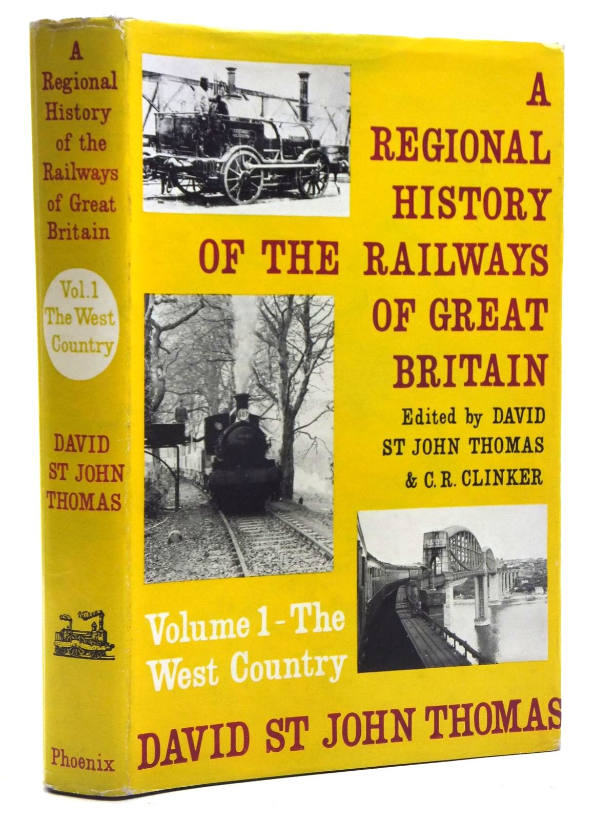 Photo of A REGIONAL HISTORY OF THE RAILWAYS OF GREAT BRITAIN VOLUME 1 - THE WEST COUNTRY written by Thomas, David St John published by Phoenix House (STOCK CODE: 2119980)  for sale by Stella & Rose's Books