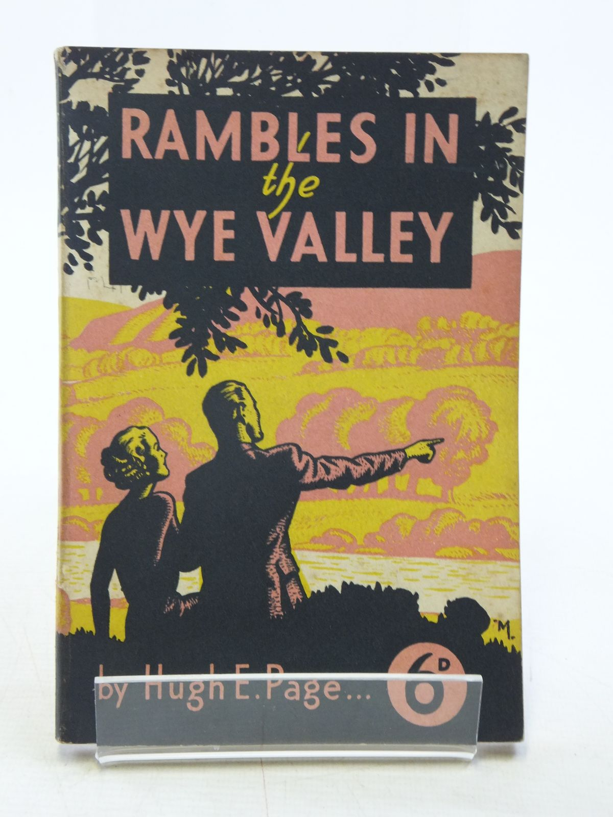 Photo of RAMBLES AND WALKING TOURS IN THE WYE VALLEY written by Page, Hugh E. published by GWR (STOCK CODE: 2120060)  for sale by Stella & Rose's Books