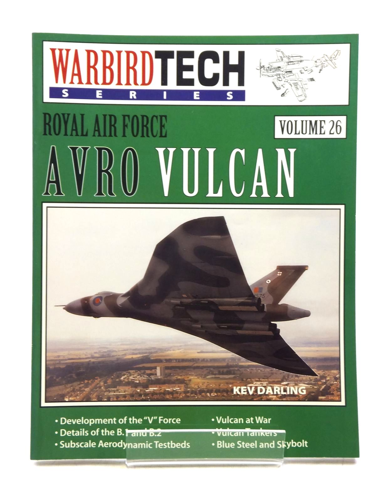 Photo of AVRO VULCAN written by Darling, Kev published by Speciality Press (STOCK CODE: 2120074)  for sale by Stella & Rose's Books