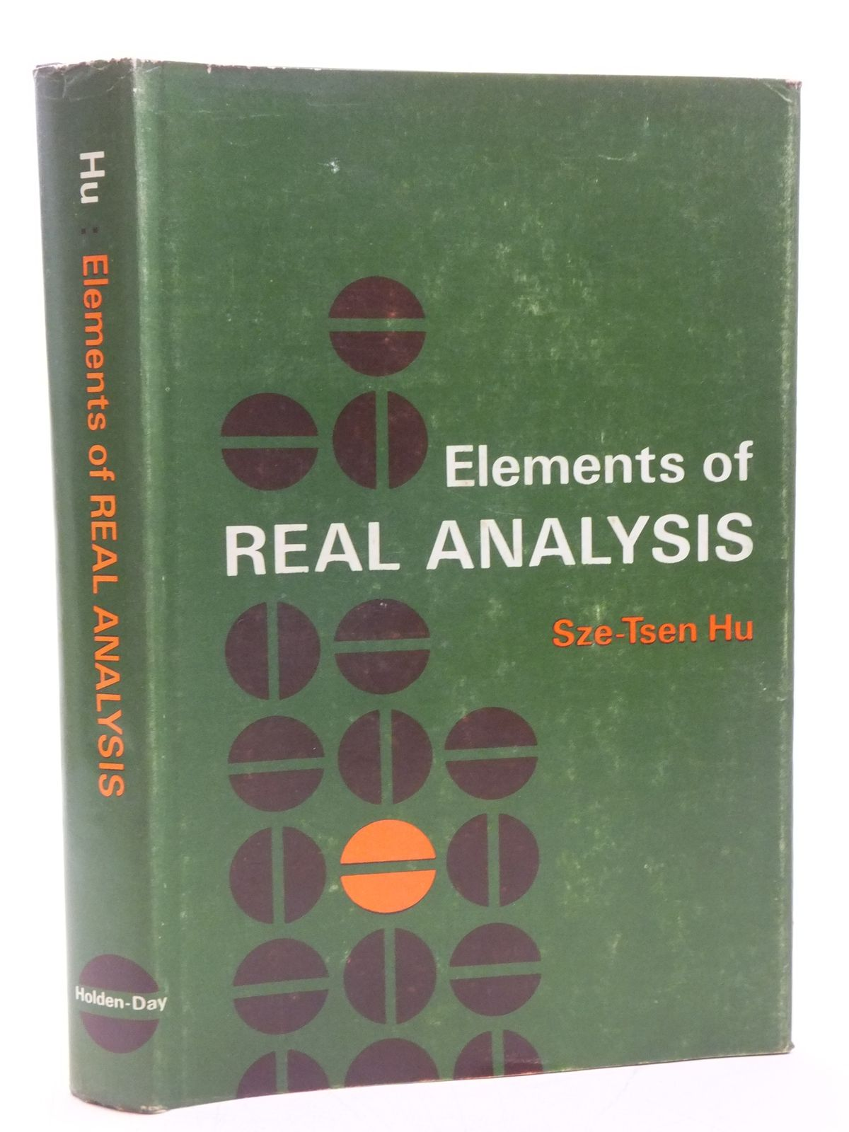 ELEMENTS OF REAL ANALYSIS written by Hu, Sze-Tsen, STOCK CODE