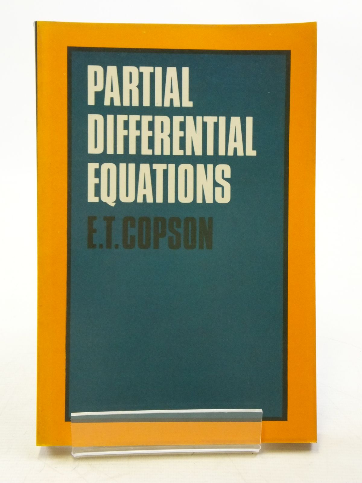 Photo of PARTIAL DIFFERENTIAL EQUATIONS written by Copson, E.T. published by Cambridge University Press (STOCK CODE: 2120134)  for sale by Stella & Rose's Books