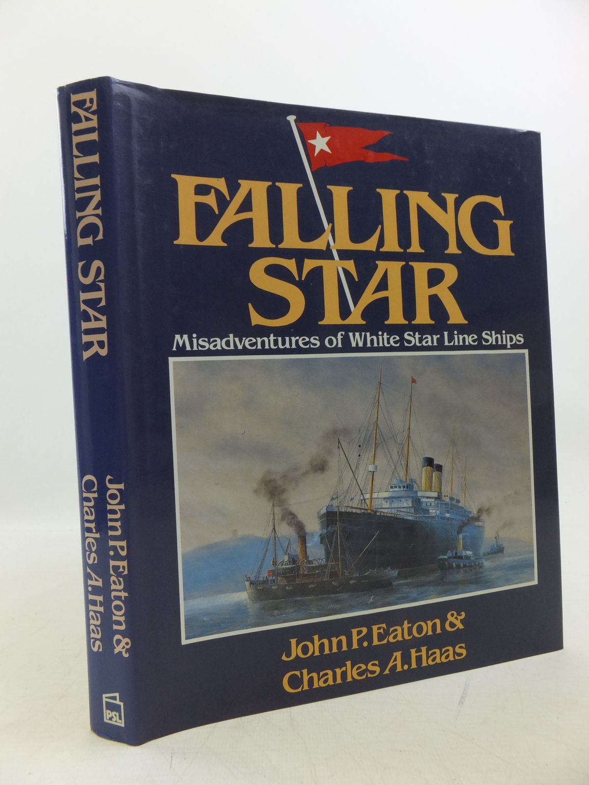 Photo of FALLING STAR MISADVENTURES OF WHITE STAR LINE SHIPS written by Eaton, John P.<br />Haas, Charles A. published by Patrick Stephens Limited (STOCK CODE: 2120221)  for sale by Stella & Rose's Books