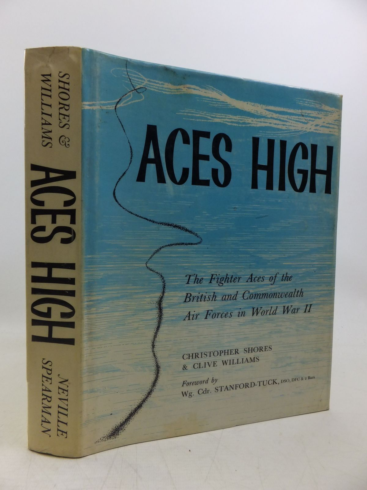 Photo of ACES HIGH THE FIGHTER ACES OF THE BRITISH AND COMMONWEALTH AIR FORCES IN WORLD WAR II written by Shores, Christopher<br />Williams, Clive published by Neville Spearman (STOCK CODE: 2120261)  for sale by Stella & Rose's Books