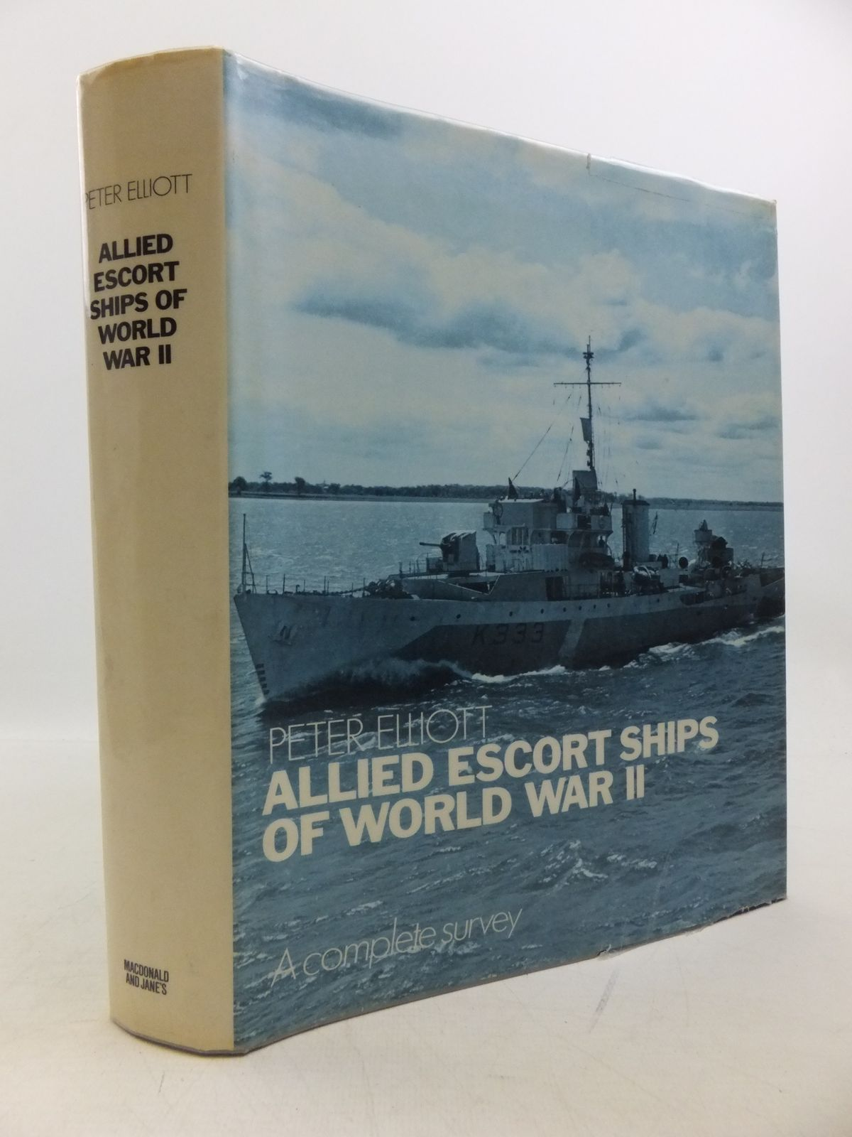 Photo of ALLIED ESCORT SHIPS OF WORLD WAR II written by Elliott, Peter published by Macdonald and Jane's (STOCK CODE: 2120262)  for sale by Stella & Rose's Books