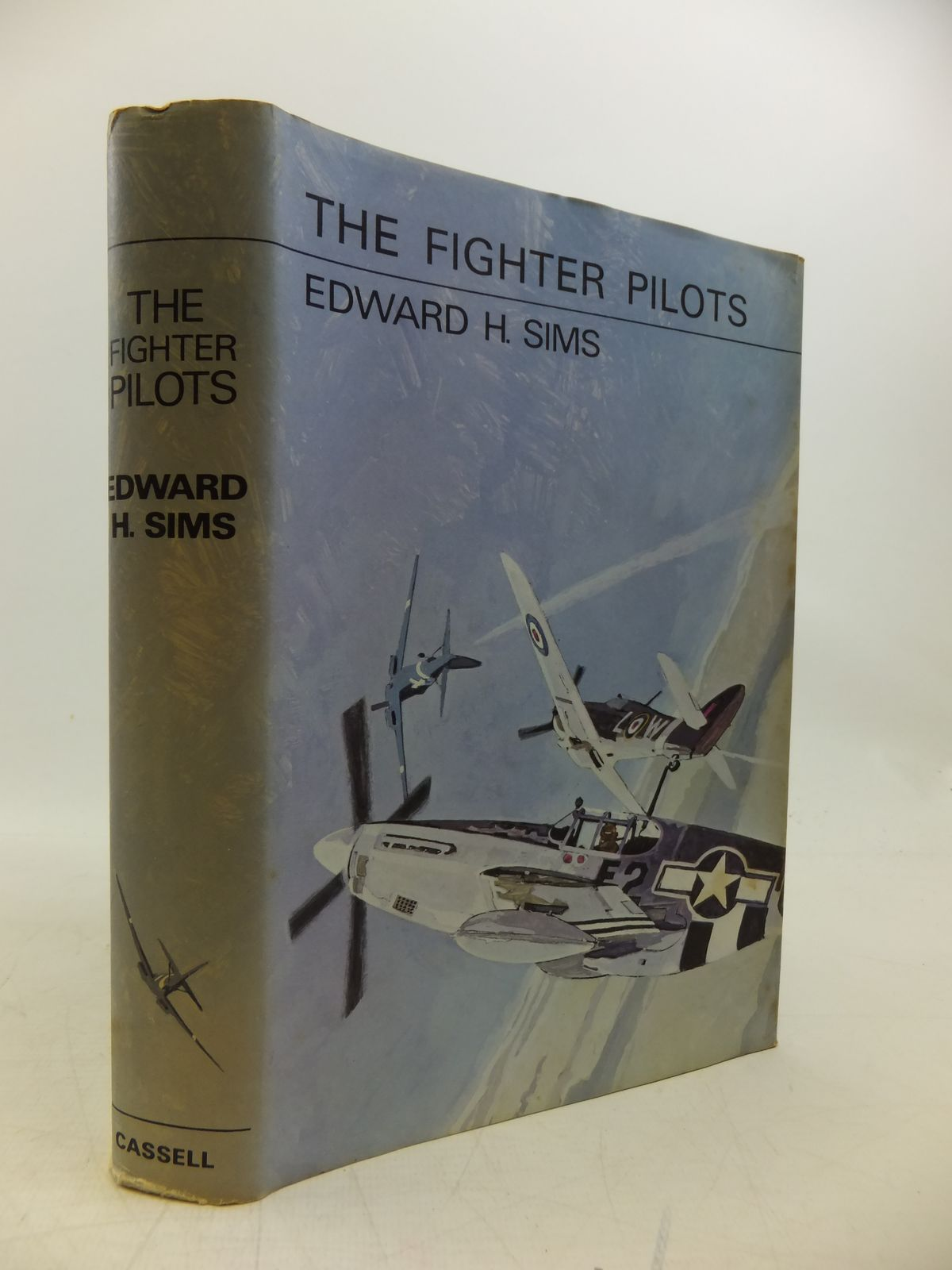 Photo of THE FIGHTER PILOTS written by Sims, Edward H. published by Cassell (STOCK CODE: 2120279)  for sale by Stella & Rose's Books