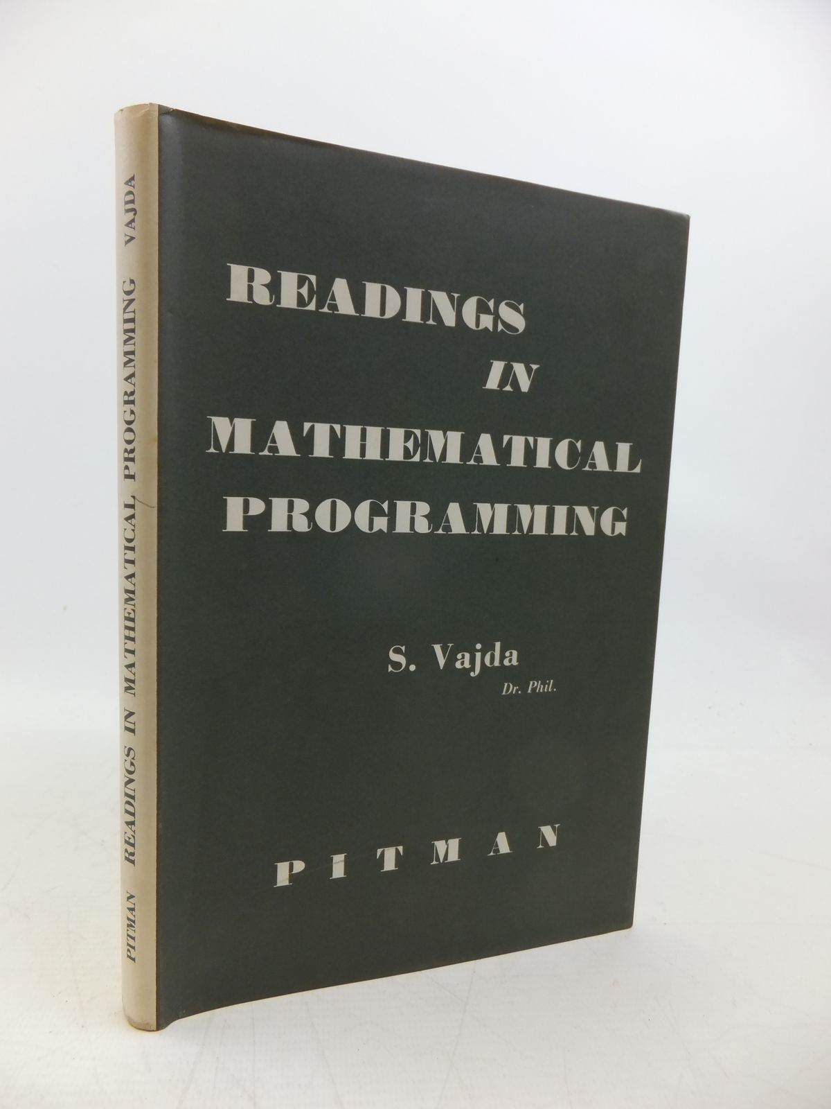 Photo of READINGS IN MATHEMATICAL PROGRAMMING written by Vajda, S. published by Sir Isaac Pitman & Sons Ltd. (STOCK CODE: 2120317)  for sale by Stella & Rose's Books