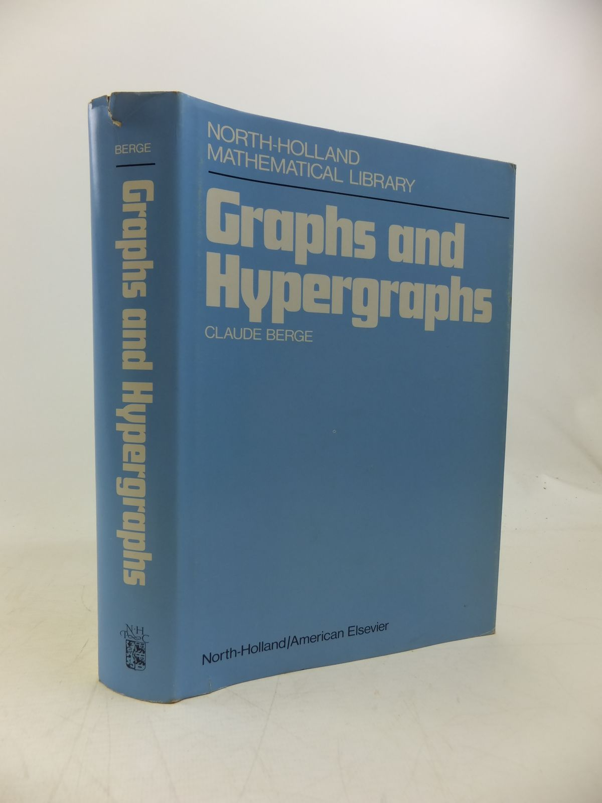 Photo of GRAPHS AND HYPERGRAPHS written by Berge, Claude published by North-Holland Publishing Company (STOCK CODE: 2120319)  for sale by Stella & Rose's Books