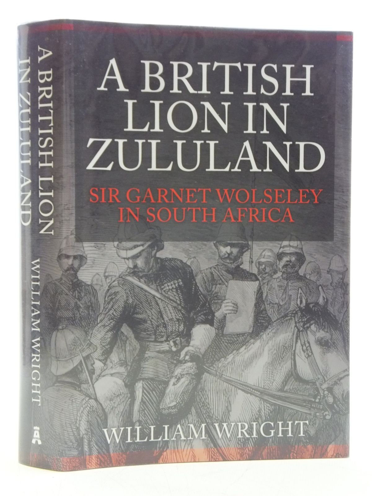 Photo of A BRITISH LION IN ZULULAND written by Wright, William published by Amberley (STOCK CODE: 2120372)  for sale by Stella & Rose's Books