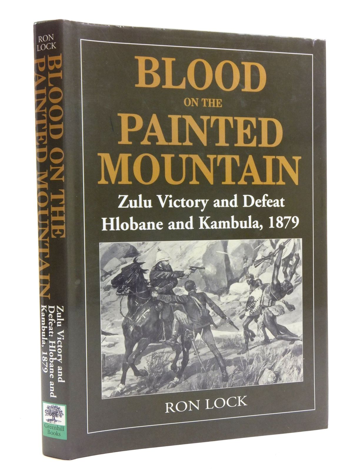 Photo of BLOOD ON THE PAINTED MOUNTAIN ZULU VICTORY AND DEFEAT HLOBANE AND KAMBULA 1879 written by Lock, Ron published by Greenhill Books (STOCK CODE: 2120376)  for sale by Stella & Rose's Books