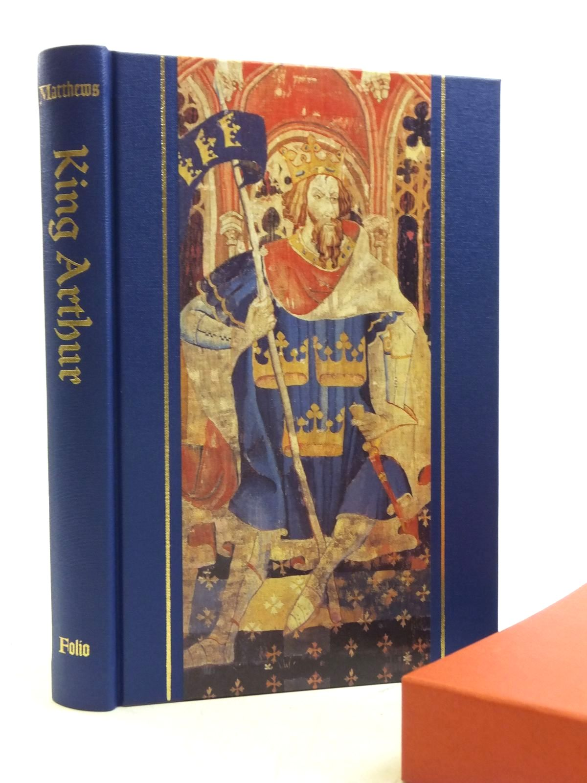 Photo of KING ARTHUR HISTORY & LEGEND written by Matthews, John<br />Matthews, Caitlin published by Folio Society (STOCK CODE: 2120427)  for sale by Stella & Rose's Books