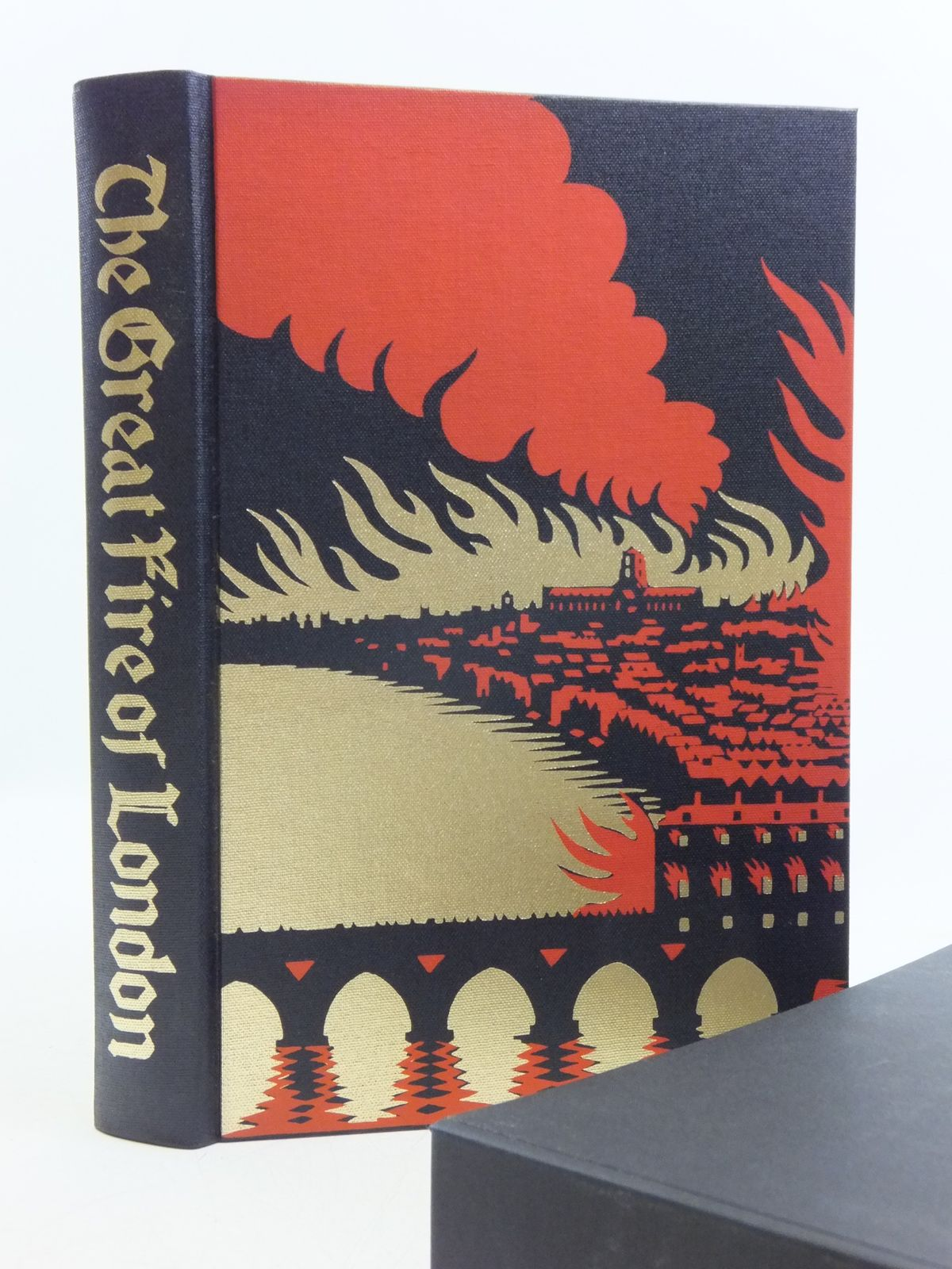 Photo of THE GREAT FIRE OF LONDON IN 1666 written by Bell, Walter George published by Folio Society (STOCK CODE: 2120436)  for sale by Stella & Rose's Books