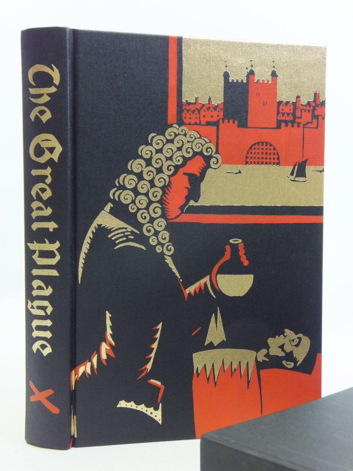 Photo of THE GREAT PLAGUE IN LONDON written by Bell, Walter George illustrated by Hollyer, Belinda published by Folio Society (STOCK CODE: 2120437)  for sale by Stella & Rose's Books