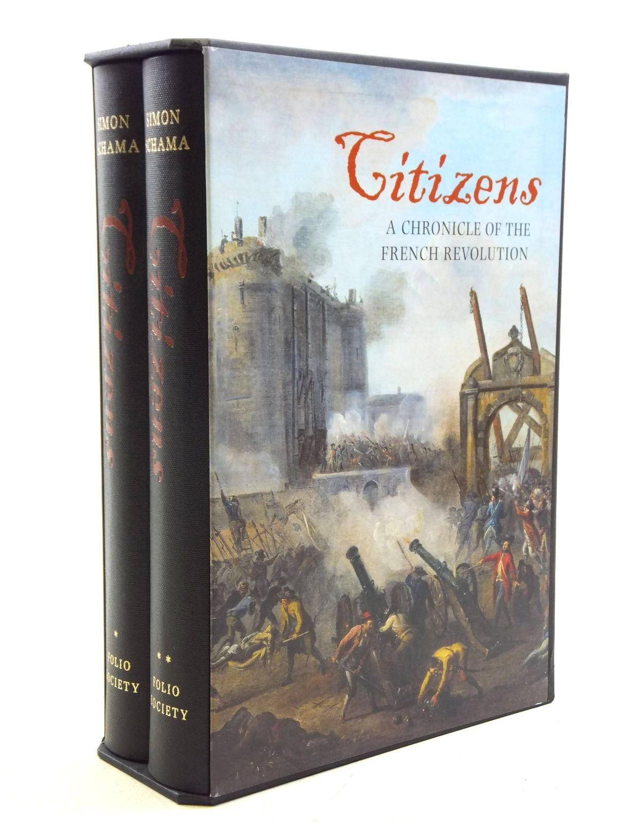 Photo of CITIZENS: A CHRONICLE OF THE FRENCH REVOLUTION (2 VOLUMES) written by Schama, Simon published by Folio Society (STOCK CODE: 2120510)  for sale by Stella & Rose's Books