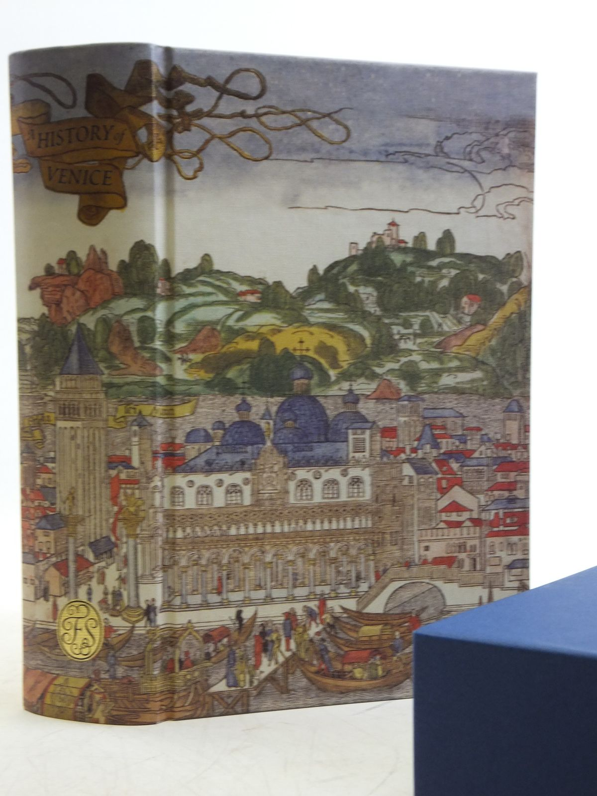 Photo of A HISTORY OF VENICE written by Norwich, John Julius published by Folio Society (STOCK CODE: 2120514)  for sale by Stella & Rose's Books