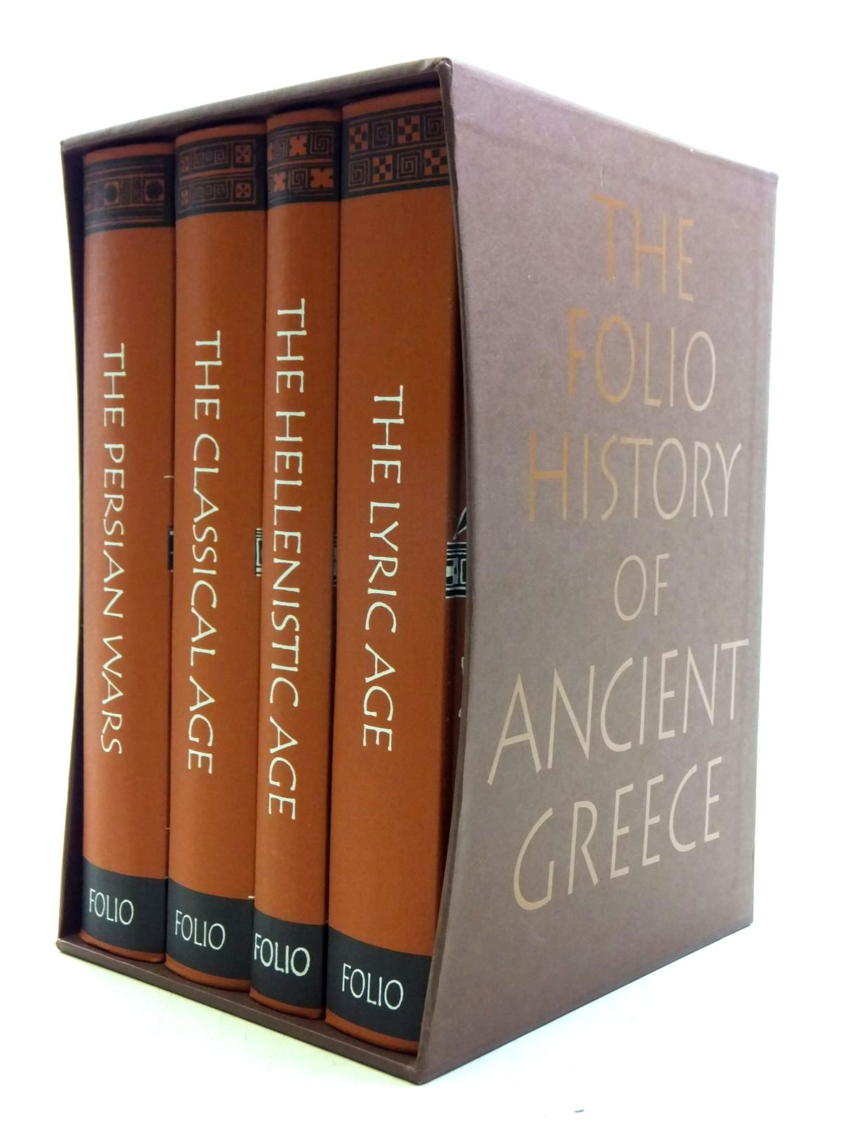 Photo of THE FOLIO HISTORY OF ANCIENT GREECE (4 VOLUMES) published by Folio Society (STOCK CODE: 2120519)  for sale by Stella & Rose's Books