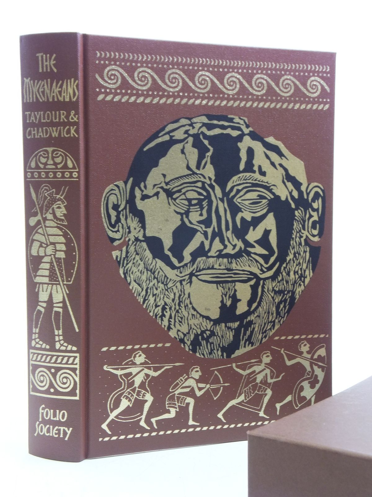 Photo of THE MYCENAEANS AND THE DECIPHERMENT OF LINEAR B written by Taylour, William<br />Chadwick, John published by Folio Society (STOCK CODE: 2120534)  for sale by Stella & Rose's Books