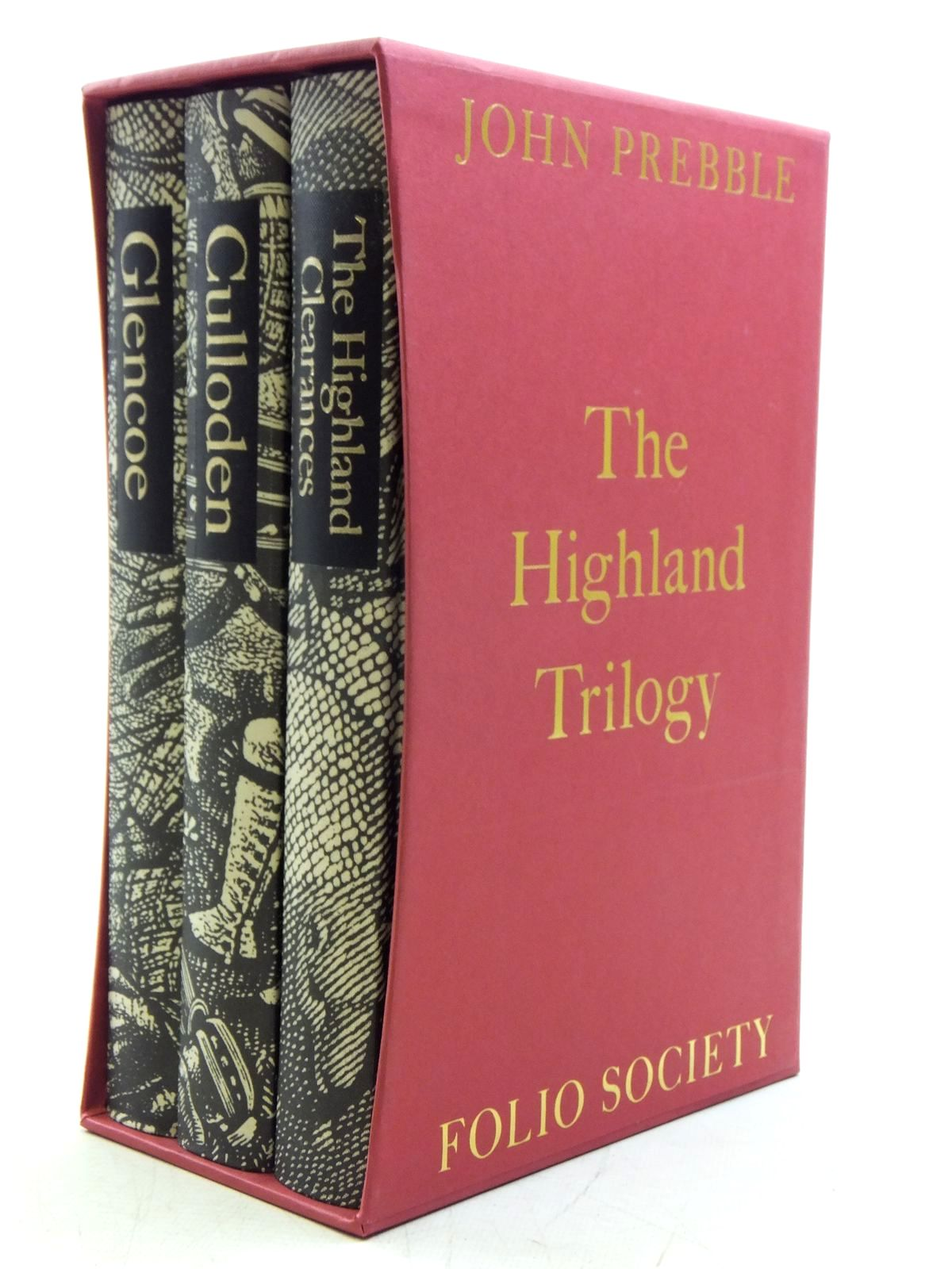 Photo of THE HIGHLAND TRILOGY written by Prebble, John illustrated by Brockway, Harry published by Folio Society (STOCK CODE: 2120535)  for sale by Stella & Rose's Books