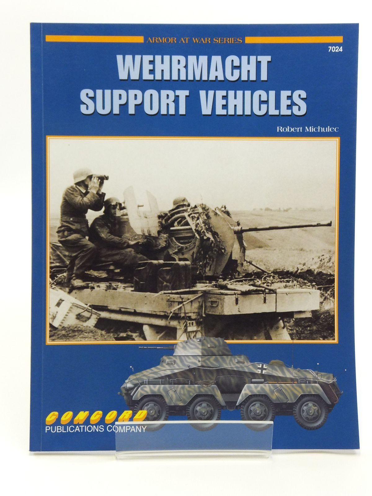 Photo of WEHRMACHT SUPPORT VEHICLES written by Michulee, Robert illustrated by Wrobel, Arkadiusz published by Concord Publications Co. (STOCK CODE: 2120592)  for sale by Stella & Rose's Books
