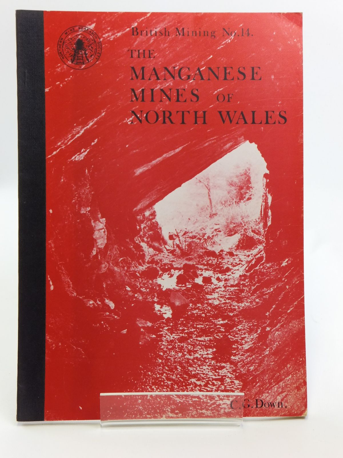 Photo of THE MANGANESE MINES OF NORTH WALES written by Down, C.G. published by Northern Mine Research Society (STOCK CODE: 2120647)  for sale by Stella & Rose's Books