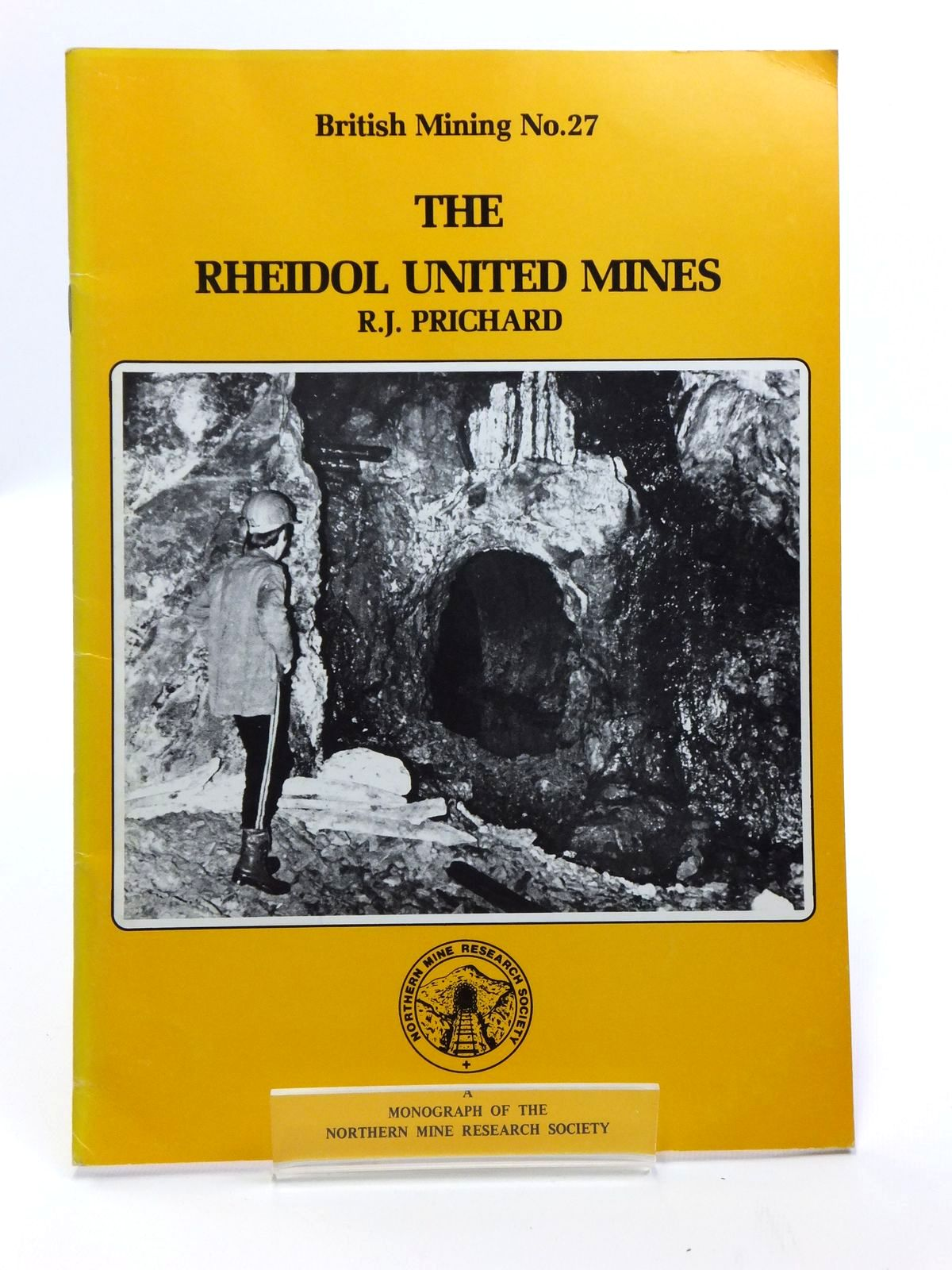 Photo of THE RHEIDOL UNITED  MINES written by Prichard, R.J. published by Northern Mine Research Society (STOCK CODE: 2120654)  for sale by Stella & Rose's Books