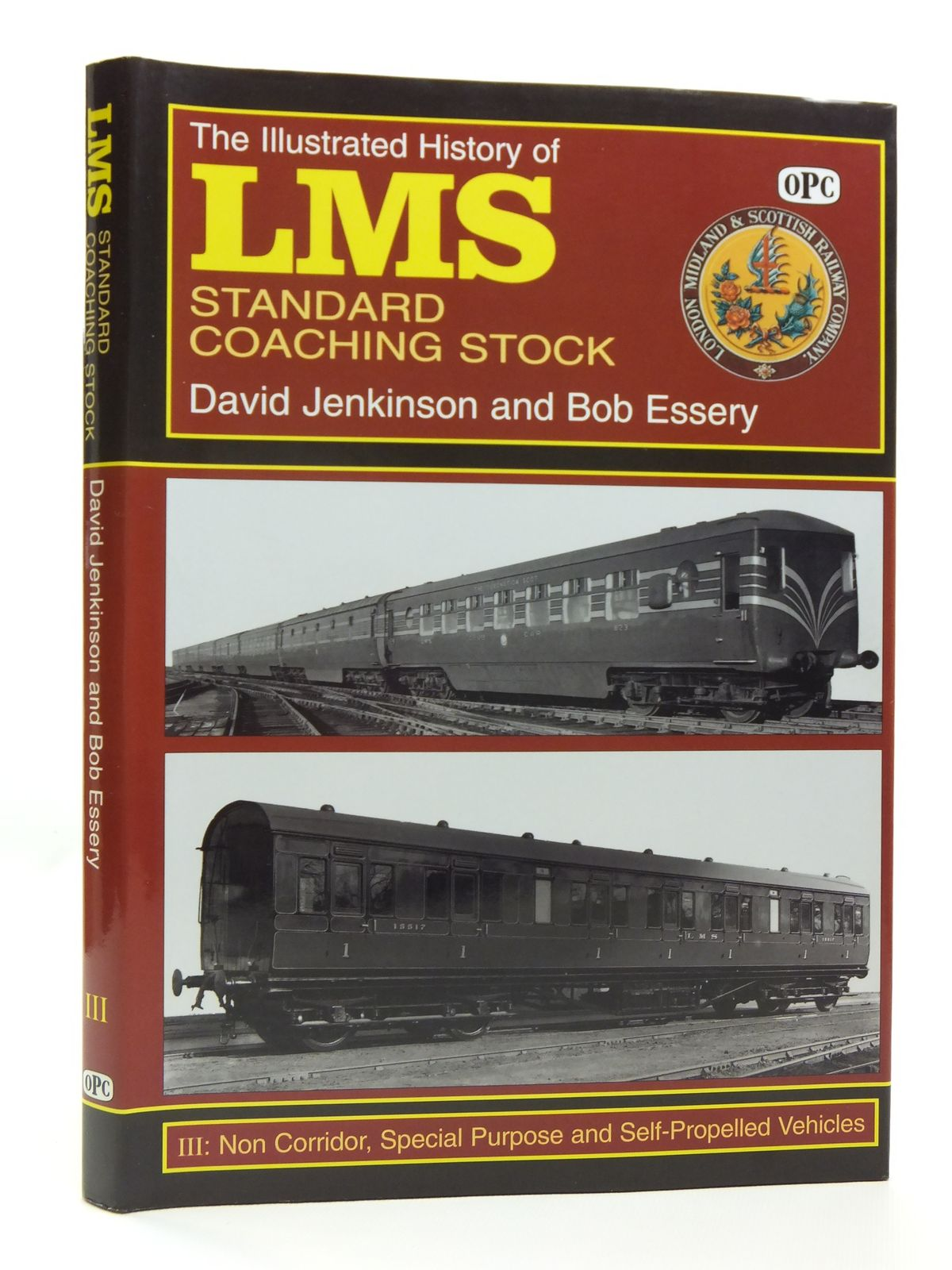 Photo of THE ILLUSTRATED HISTORY OF LMS STANDARD COACHING STOCK III written by Jenkinson, David<br />Essery, Bob published by Oxford Publishing (STOCK CODE: 2120681)  for sale by Stella & Rose's Books