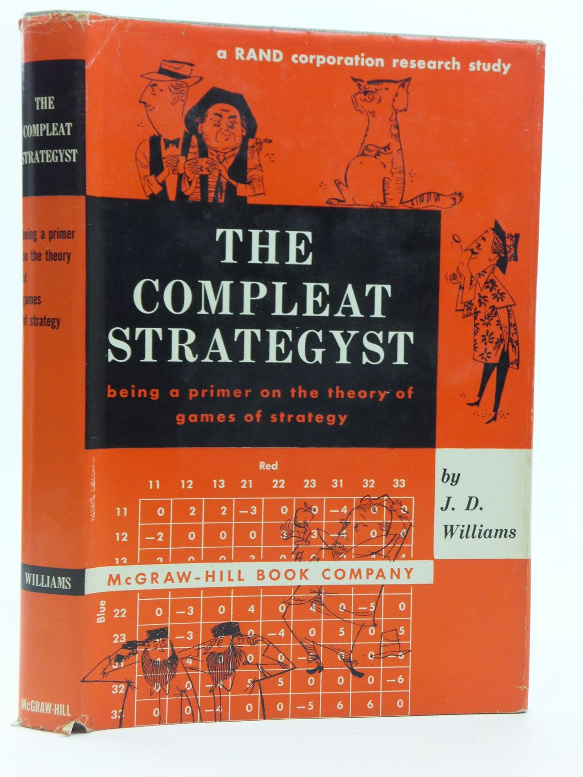 Photo of THE COMPLEAT STRATEGYST BEING A PRIMER ON THE THEORY OF GAMES AND STRATEGY written by Williams, J.D. illustrated by Satterfield, Charles published by McGraw-Hill Book Company (STOCK CODE: 2120714)  for sale by Stella & Rose's Books