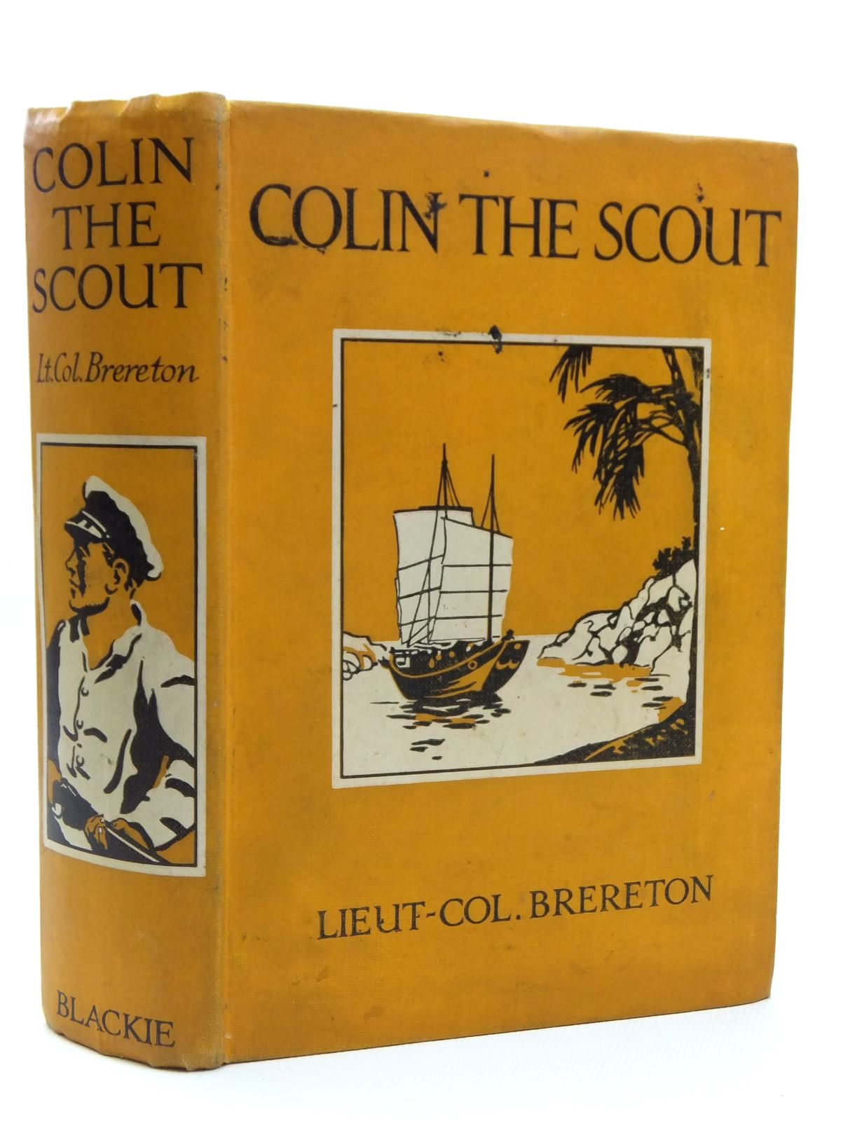 Photo of COLIN THE SCOUT written by Brereton, F.S. illustrated by Holloway, Cyril published by Blackie & Son Ltd. (STOCK CODE: 2120751)  for sale by Stella & Rose's Books