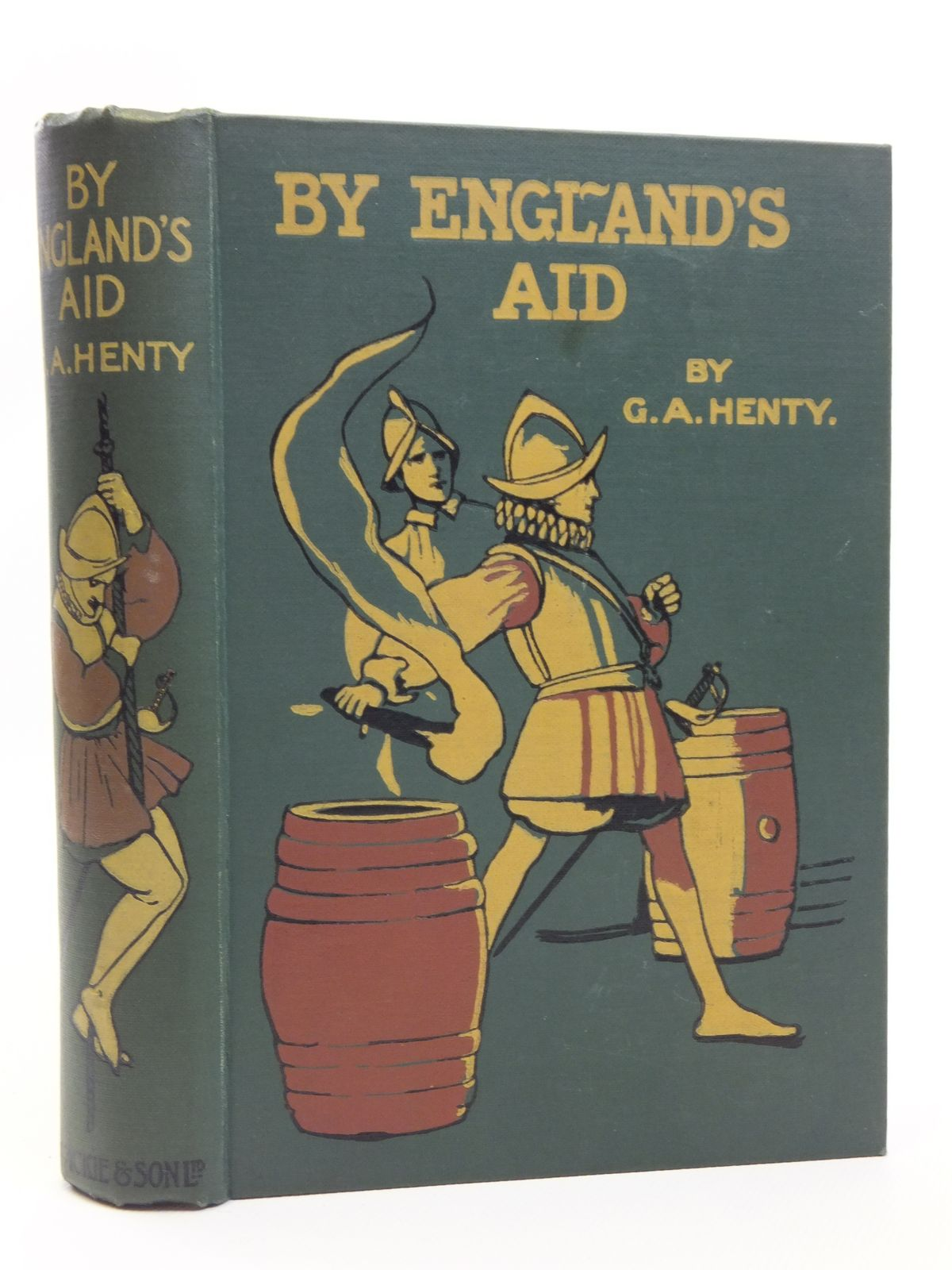Photo of BY ENGLAND'S AID written by Henty, G.A. illustrated by Pearse, Alfred published by Blackie & Son Ltd. (STOCK CODE: 2120762)  for sale by Stella & Rose's Books