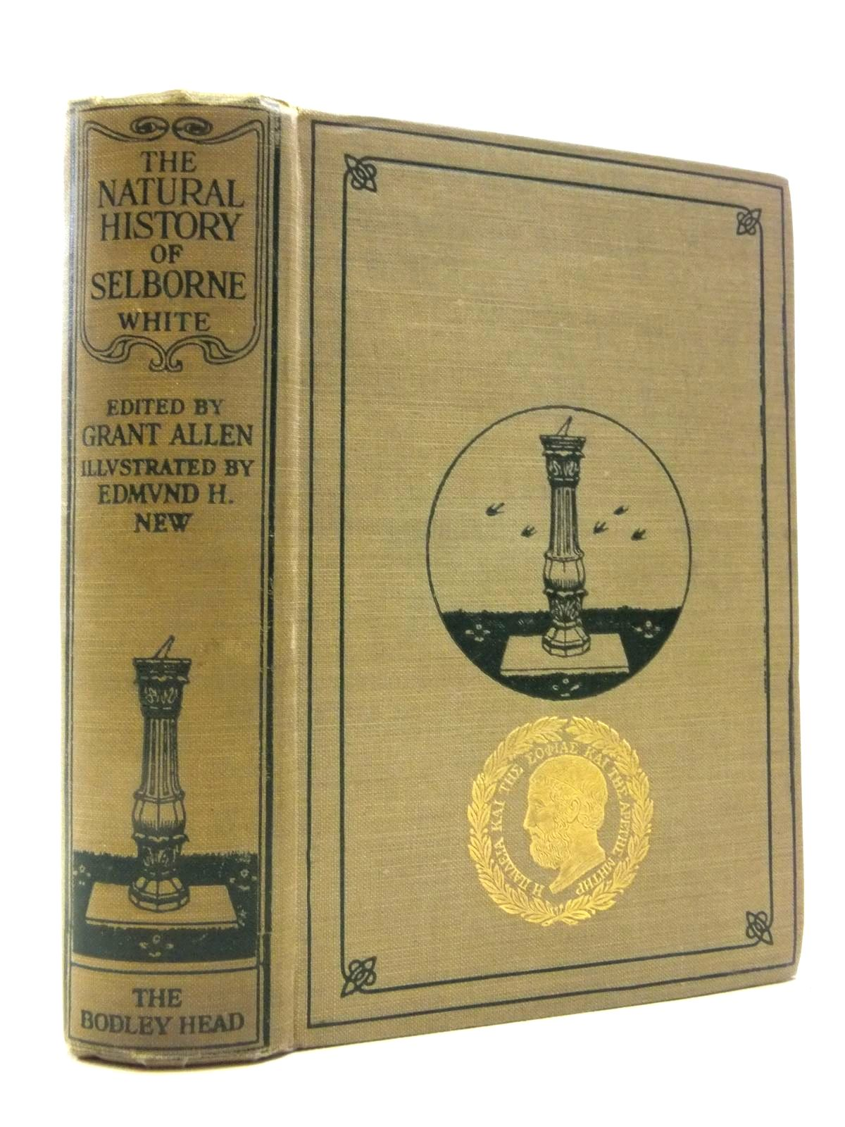 Photo of THE NATURAL HISTORY OF SELBORNE written by White, Gilbert illustrated by New, Edmund H. published by John Lane The Bodley Head (STOCK CODE: 2120797)  for sale by Stella & Rose's Books