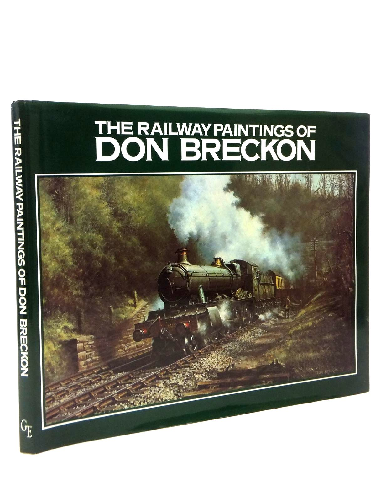 Photo of THE RAILWAY PAINTINGS OF DON BRECKON illustrated by Breckon, Don published by Greenwich Editions (STOCK CODE: 2120836)  for sale by Stella & Rose's Books