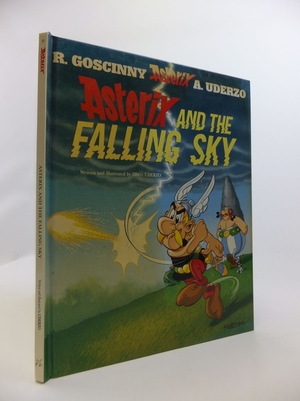 Photo of ASTERIX AND THE FALLING SKY written by Uderzo, Albert illustrated by Uderzo, Albert published by Orion (STOCK CODE: 2120857)  for sale by Stella & Rose's Books