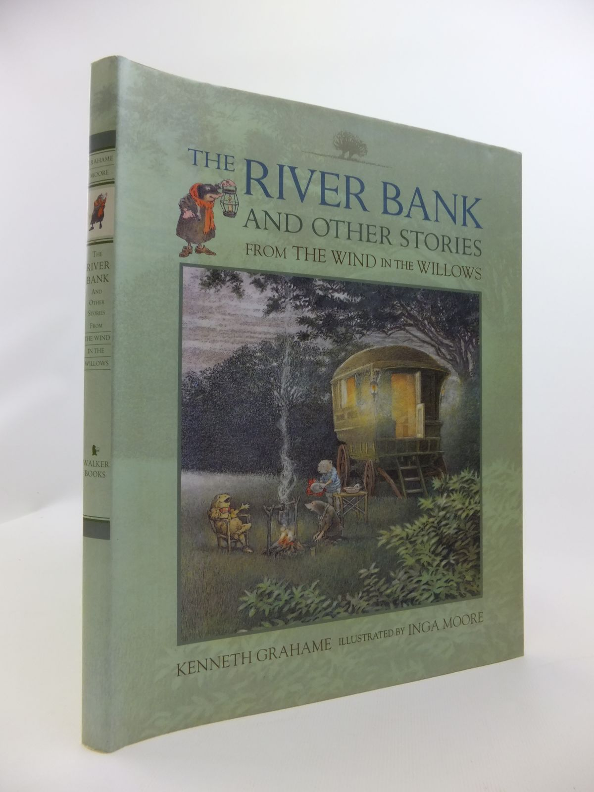 Photo of THE RIVER BANK AND OTHER STORIES FROM THE WIND IN THE WILLOWS written by Grahame, Kenneth illustrated by Moore, Inga published by Ted Smart (STOCK CODE: 2120858)  for sale by Stella & Rose's Books