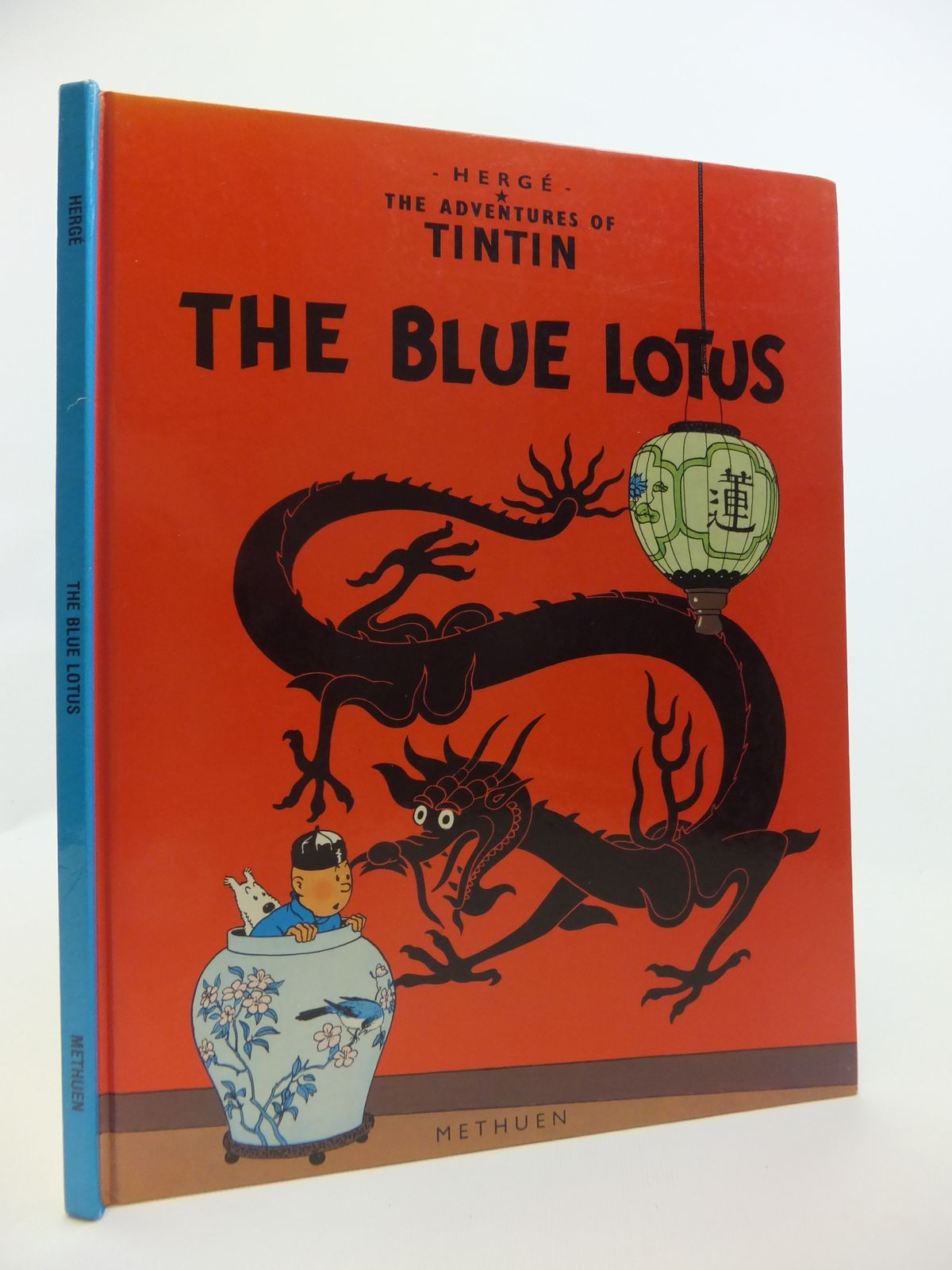 Photo of THE BLUE LOTUS written by Herge,  illustrated by Herge,  published by Methuen Children's Books (STOCK CODE: 2120861)  for sale by Stella & Rose's Books