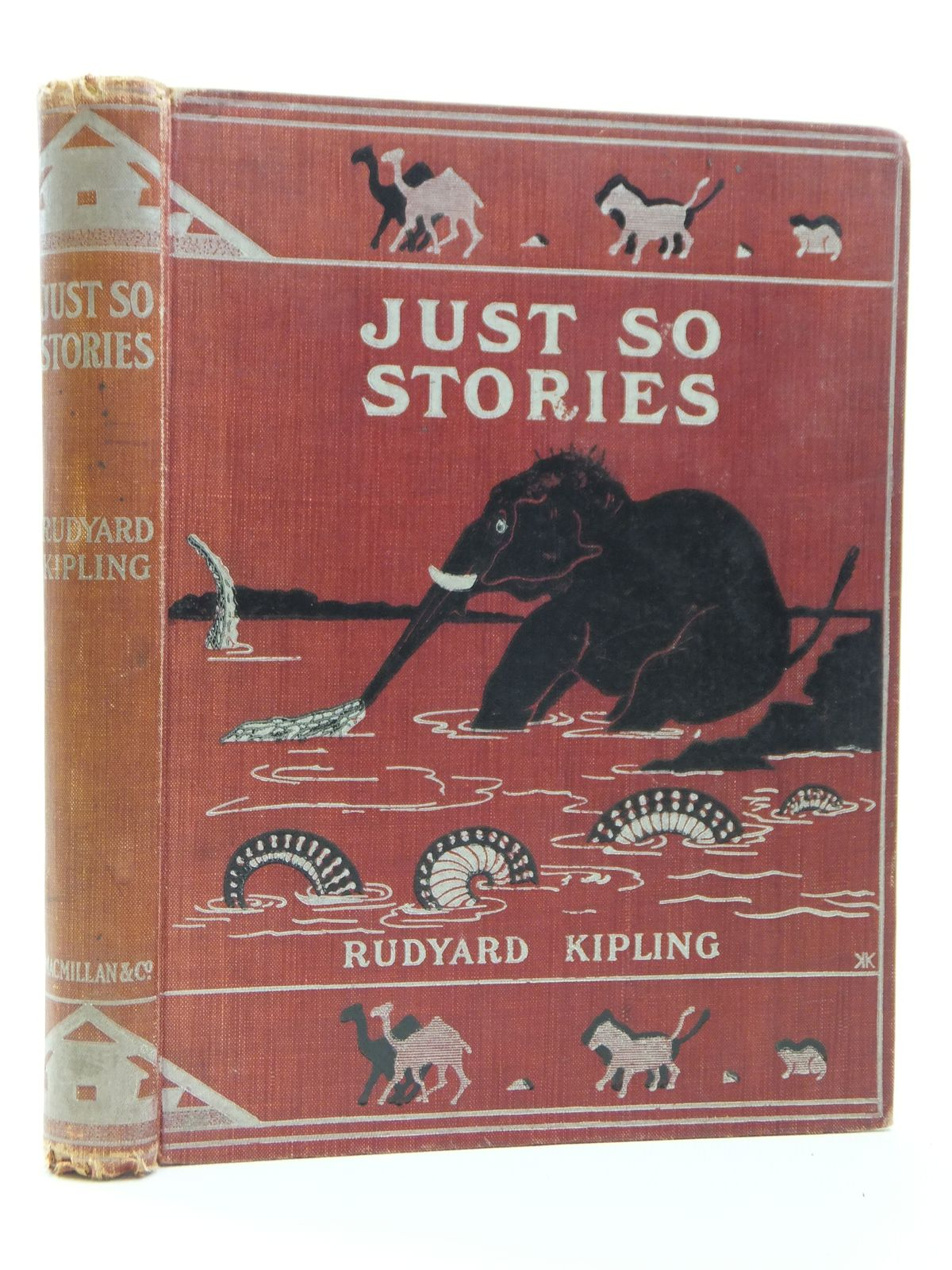 Photo of JUST SO STORIES written by Kipling, Rudyard illustrated by Kipling, Rudyard published by Macmillan & Co. Ltd. (STOCK CODE: 2120882)  for sale by Stella & Rose's Books