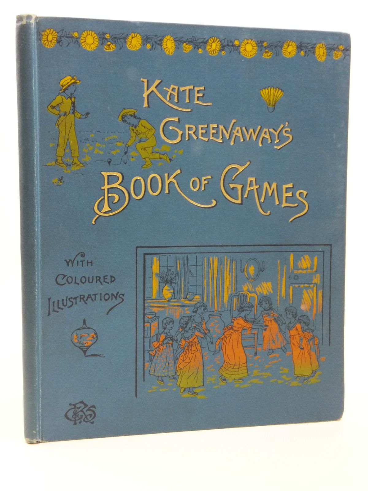 Photo of KATE GREENAWAY'S BOOK OF GAMES written by Greenaway, Kate illustrated by Greenaway, Kate published by George Routledge & Sons (STOCK CODE: 2120890)  for sale by Stella & Rose's Books