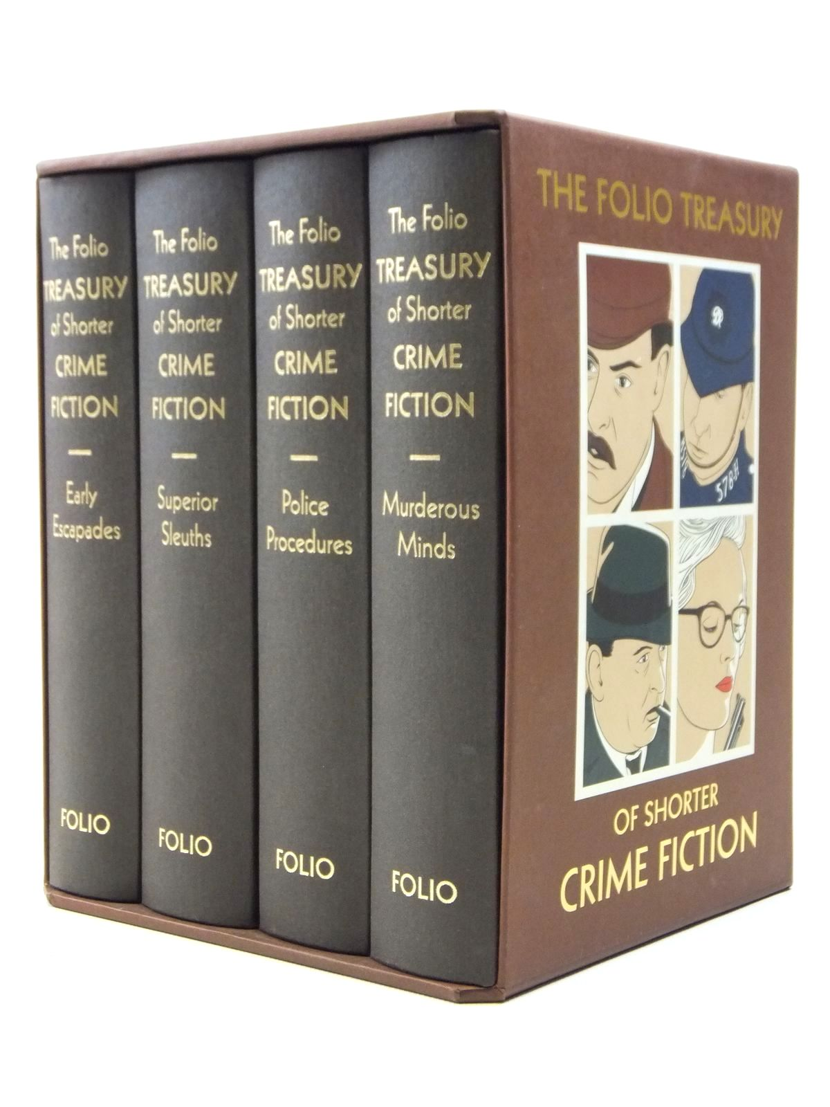 Photo of THE FOLIO TREASURY OF SHORTER CRIME FICTION written by Heald, Tim<br />Bradbury, Sue illustrated by Hardcastle, Nick published by Folio Society (STOCK CODE: 2120891)  for sale by Stella & Rose's Books