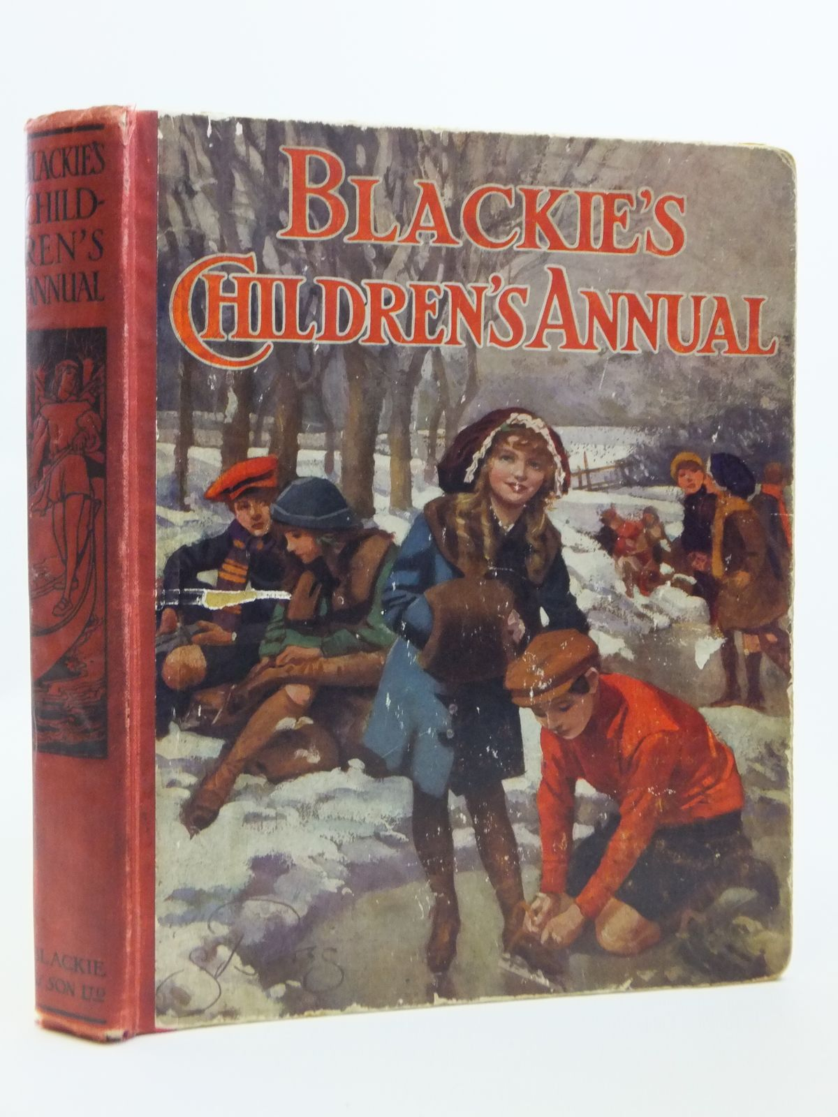 Photo of BLACKIE'S CHILDREN'S ANNUAL 10TH YEAR written by Wilson, Theodora Wilson<br />Morris, Alice Talwin<br />Pope, Jessie<br />Byron, May<br />et al, illustrated by Browne, Gordon<br />Stratton, Helen<br />Brock, H.M.<br />Harrison, Florence<br />et al., published by Blackie & Son Ltd. (STOCK CODE: 2120893)  for sale by Stella & Rose's Books