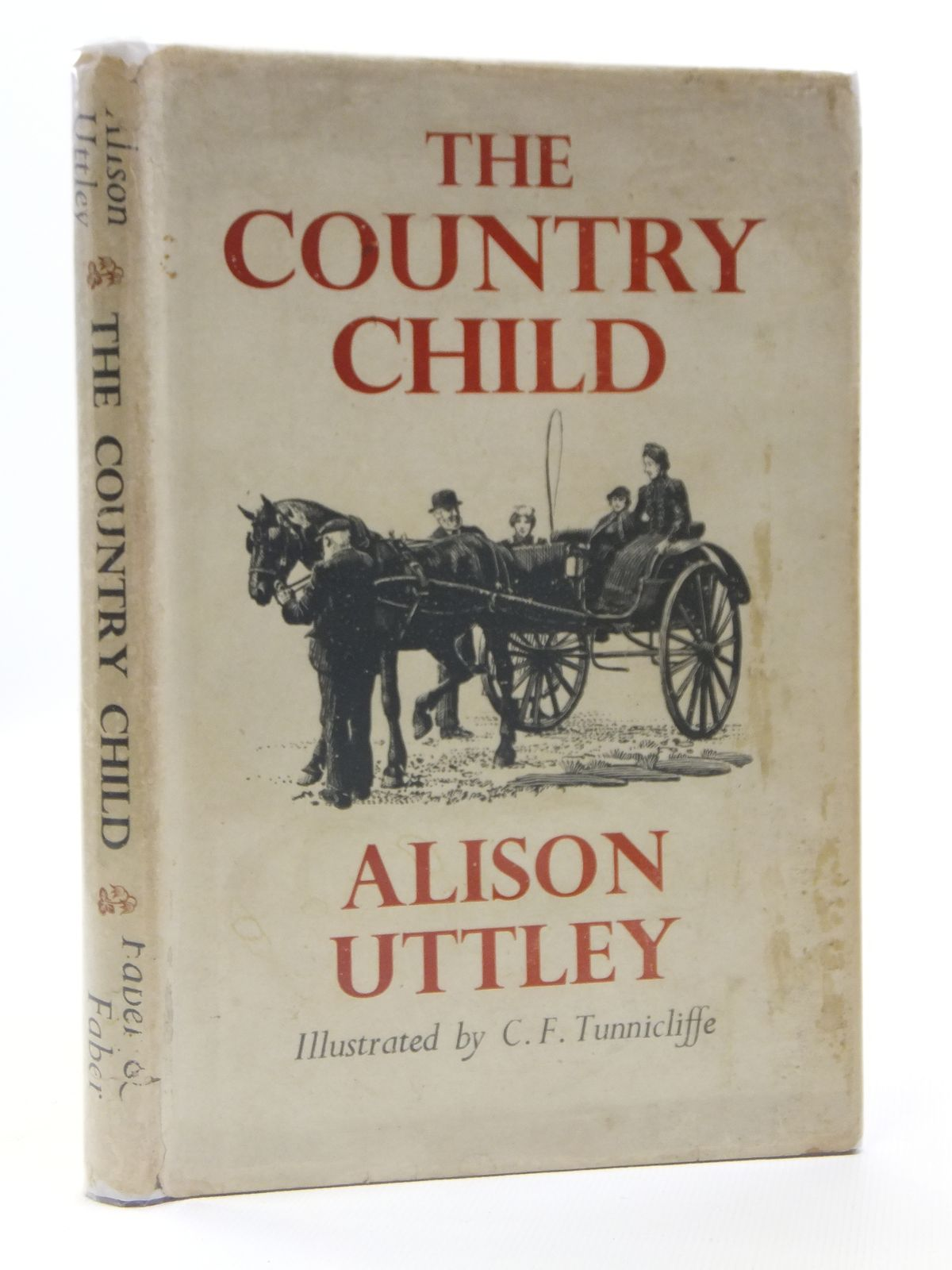 Photo of THE COUNTRY CHILD written by Uttley, Alison illustrated by Tunnicliffe, C.F. published by Faber & Faber (STOCK CODE: 2120920)  for sale by Stella & Rose's Books