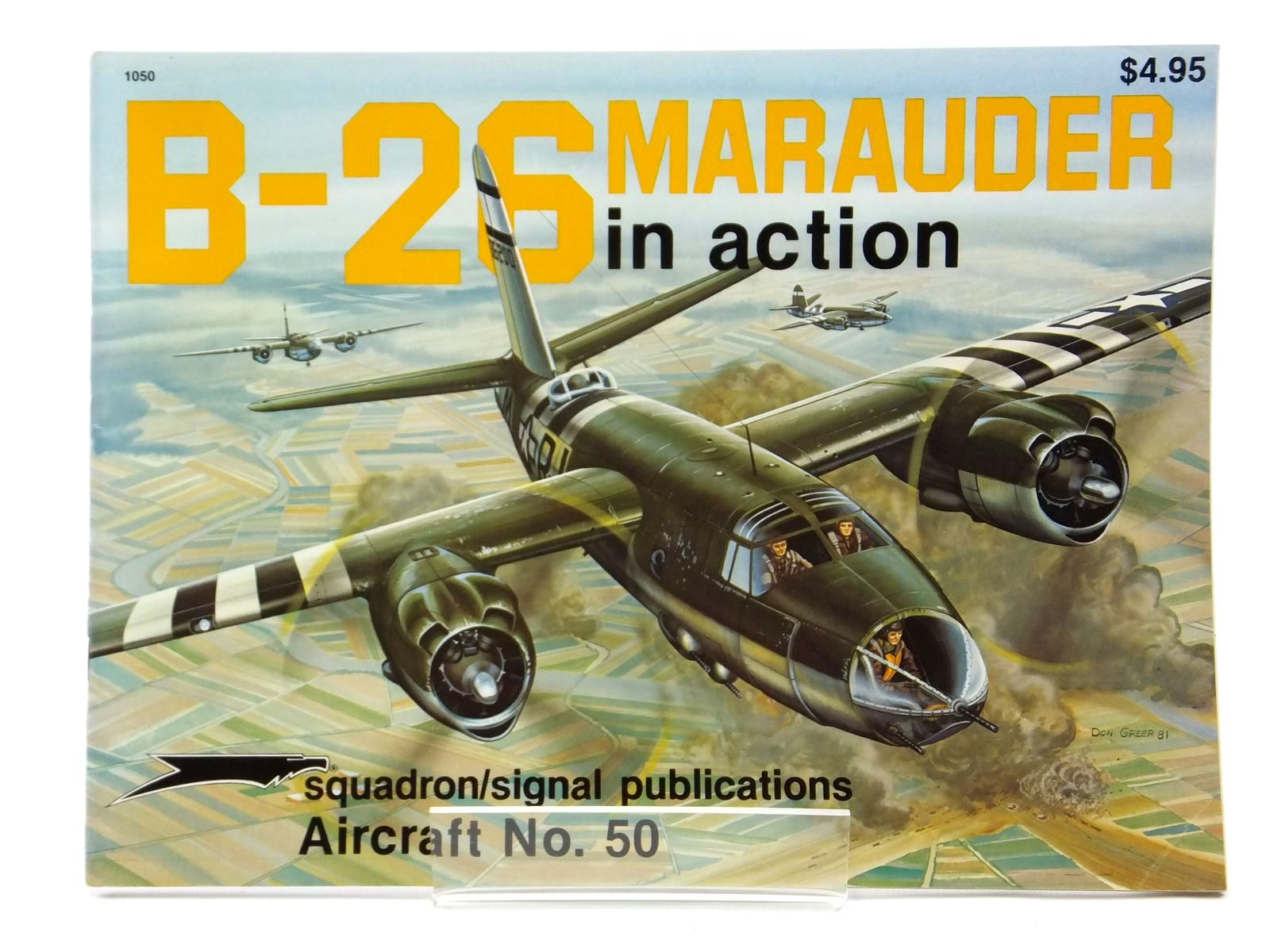Photo of B-26 MARAUDER IN ACTION written by Birdsall, Steve illustrated by Greer, Don published by Squadron Signal Publications (STOCK CODE: 2121044)  for sale by Stella & Rose's Books