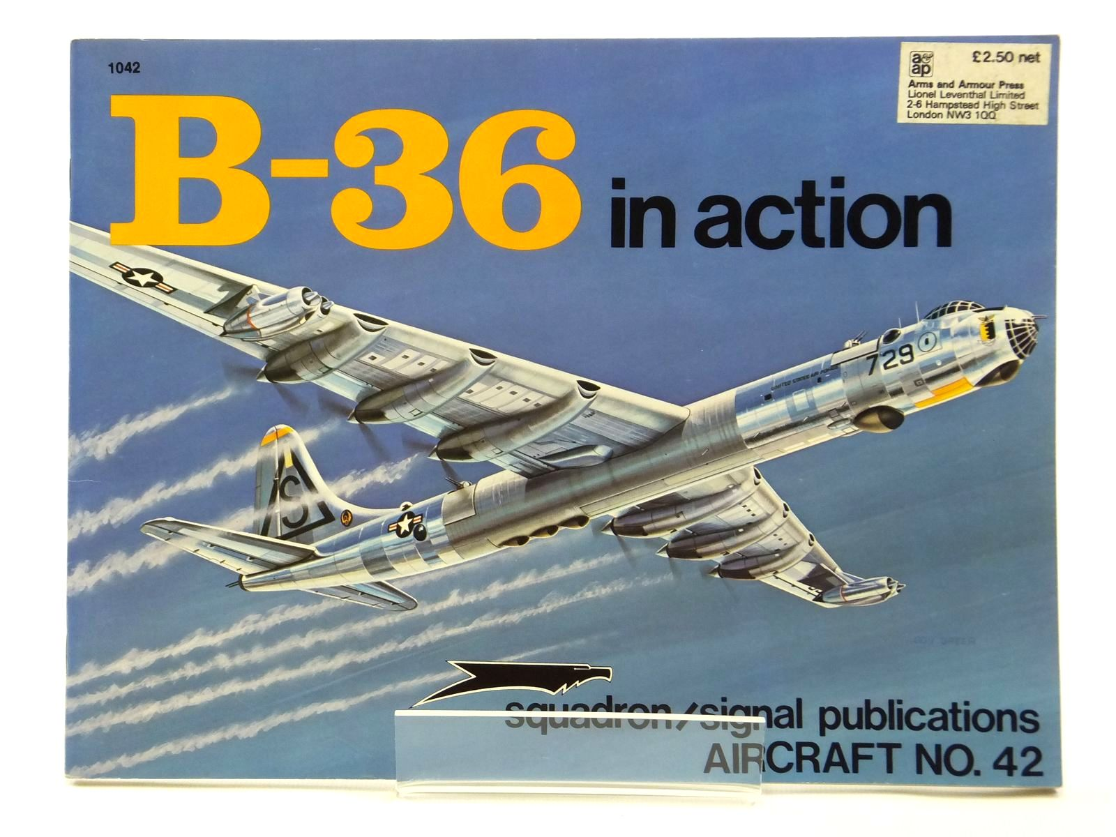Photo of B-36 IN ACTION written by Jacobsen, Meyers K.<br />Wagner, Ray illustrated by Greer, Don published by Squadron Signal Publications (STOCK CODE: 2121047)  for sale by Stella & Rose's Books